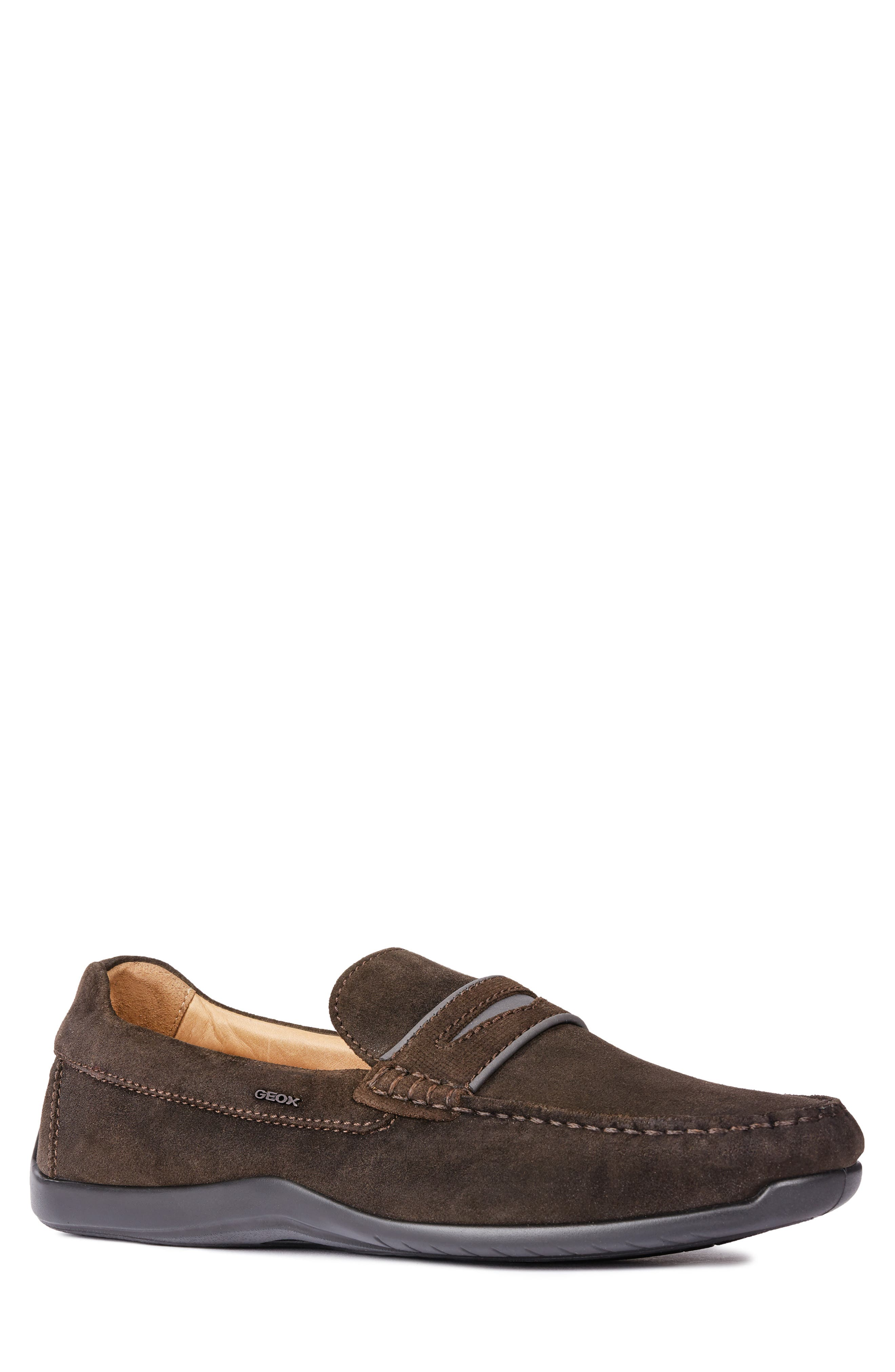 GEOX, Xense Mox 15 Penny Loafer, Main thumbnail 1, color, 248