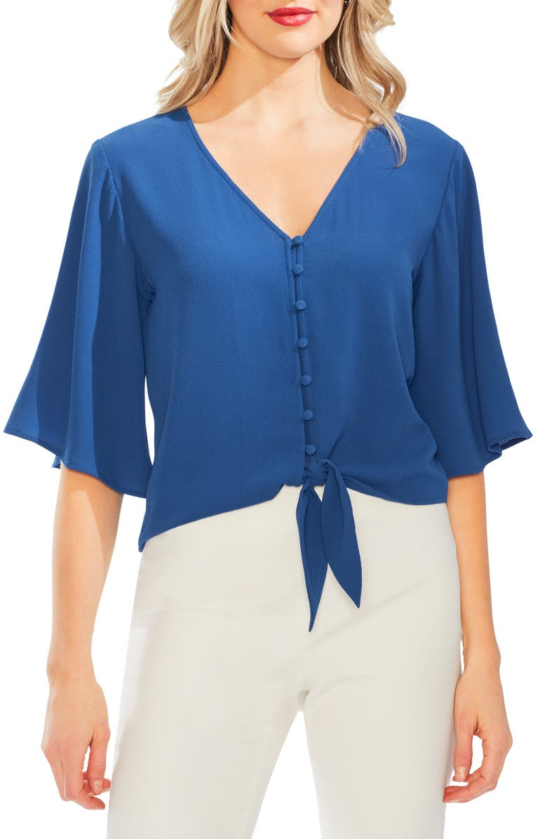 Vince Camuto Tops BELL SLEEVE BLOUSE