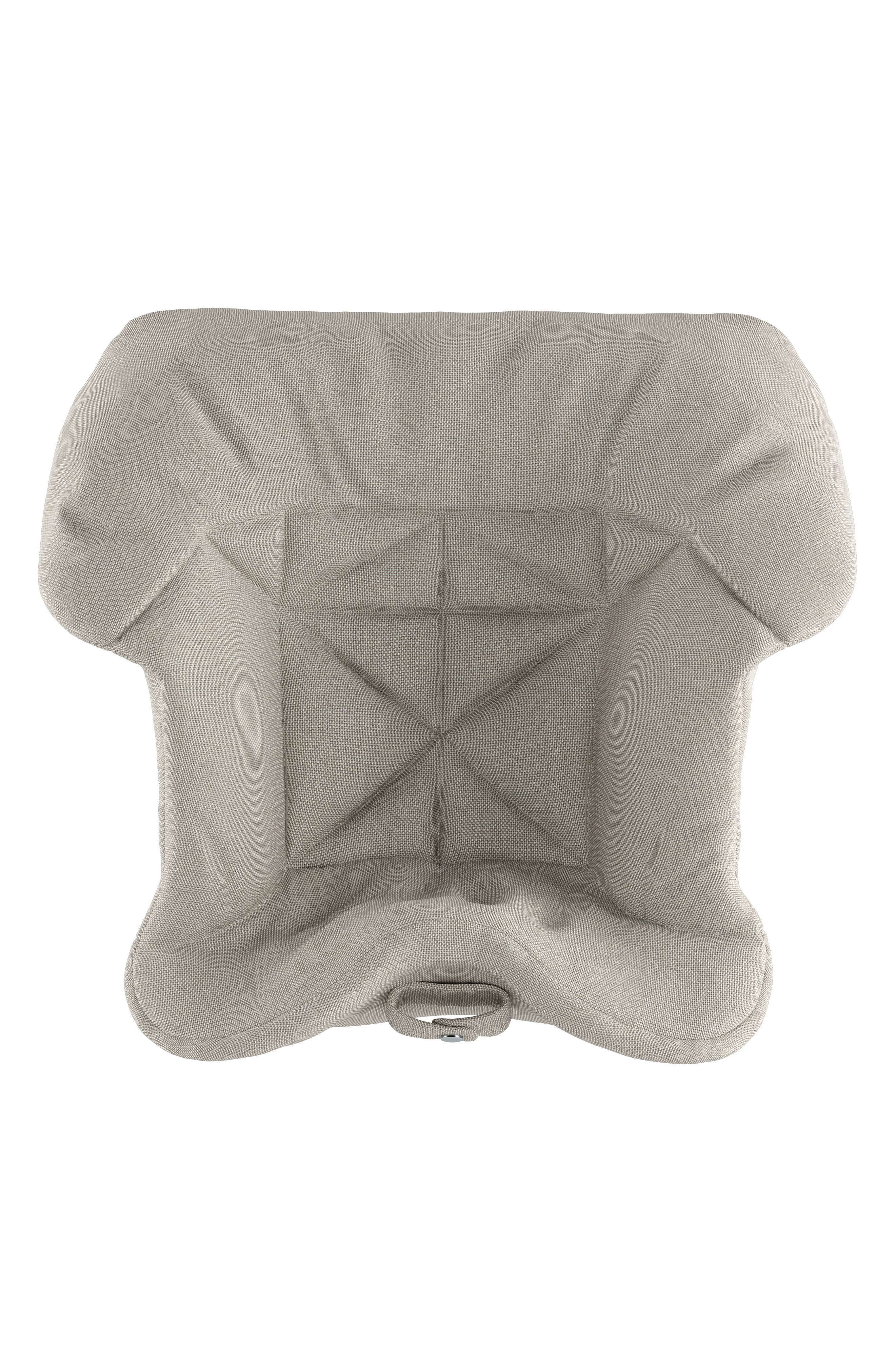 STOKKE,  Seat Cushion for Tripp Trapp<sup>®</sup> Highchair, Alternate thumbnail 2, color, TIMELESS GREY
