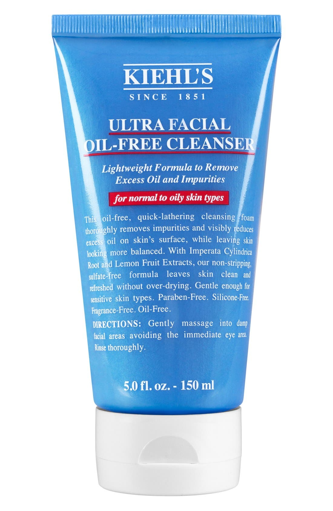 KIEHL'S SINCE 1851, 'Ultra Facial' Oil-Free Cleanser, Main thumbnail 1, color, NO COLOR
