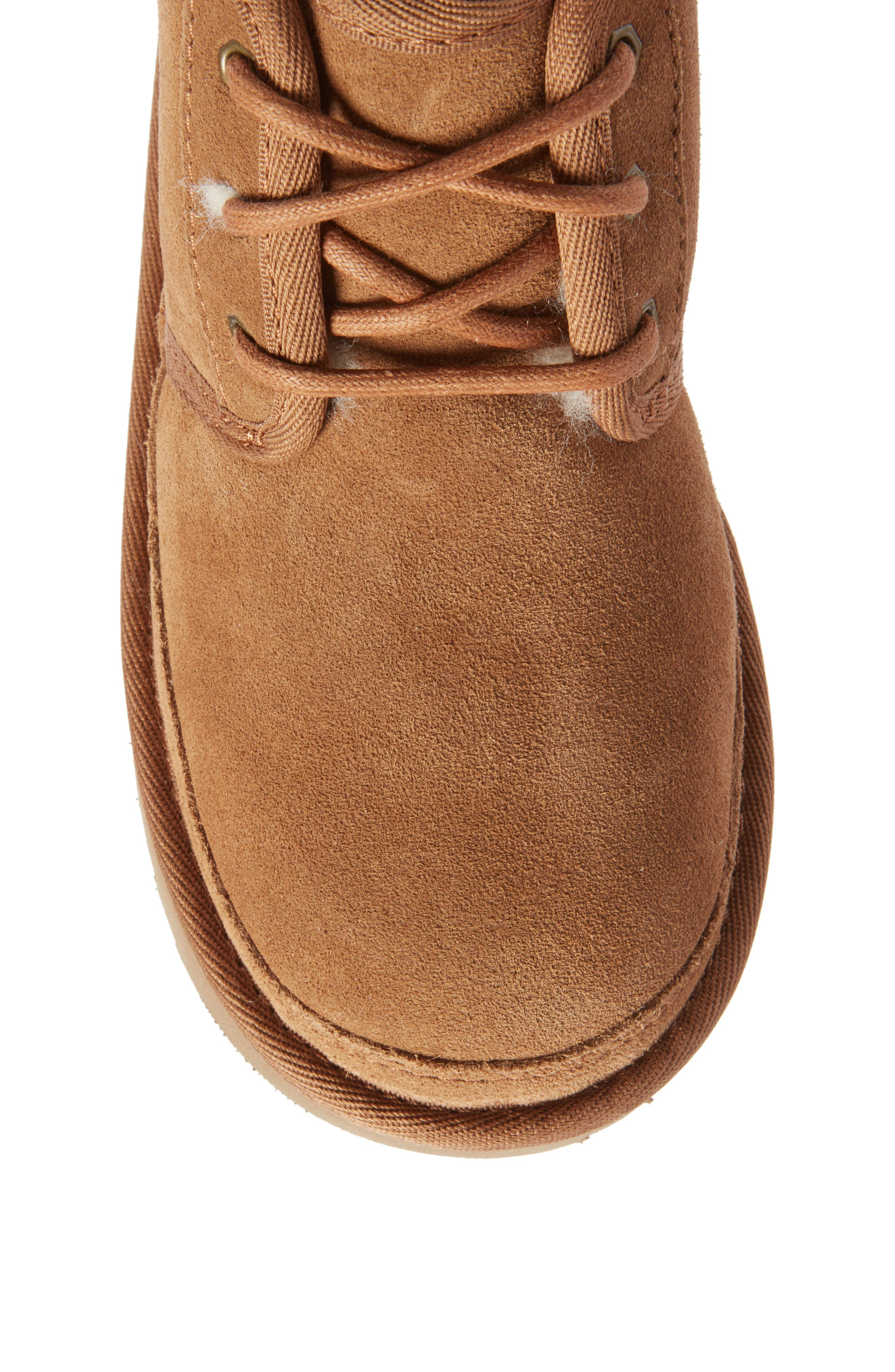 UGG<SUP>®</SUP>, Neumel II Water Resistant Chukka Boot, Alternate thumbnail 5, color, CHESTNUT BROWN