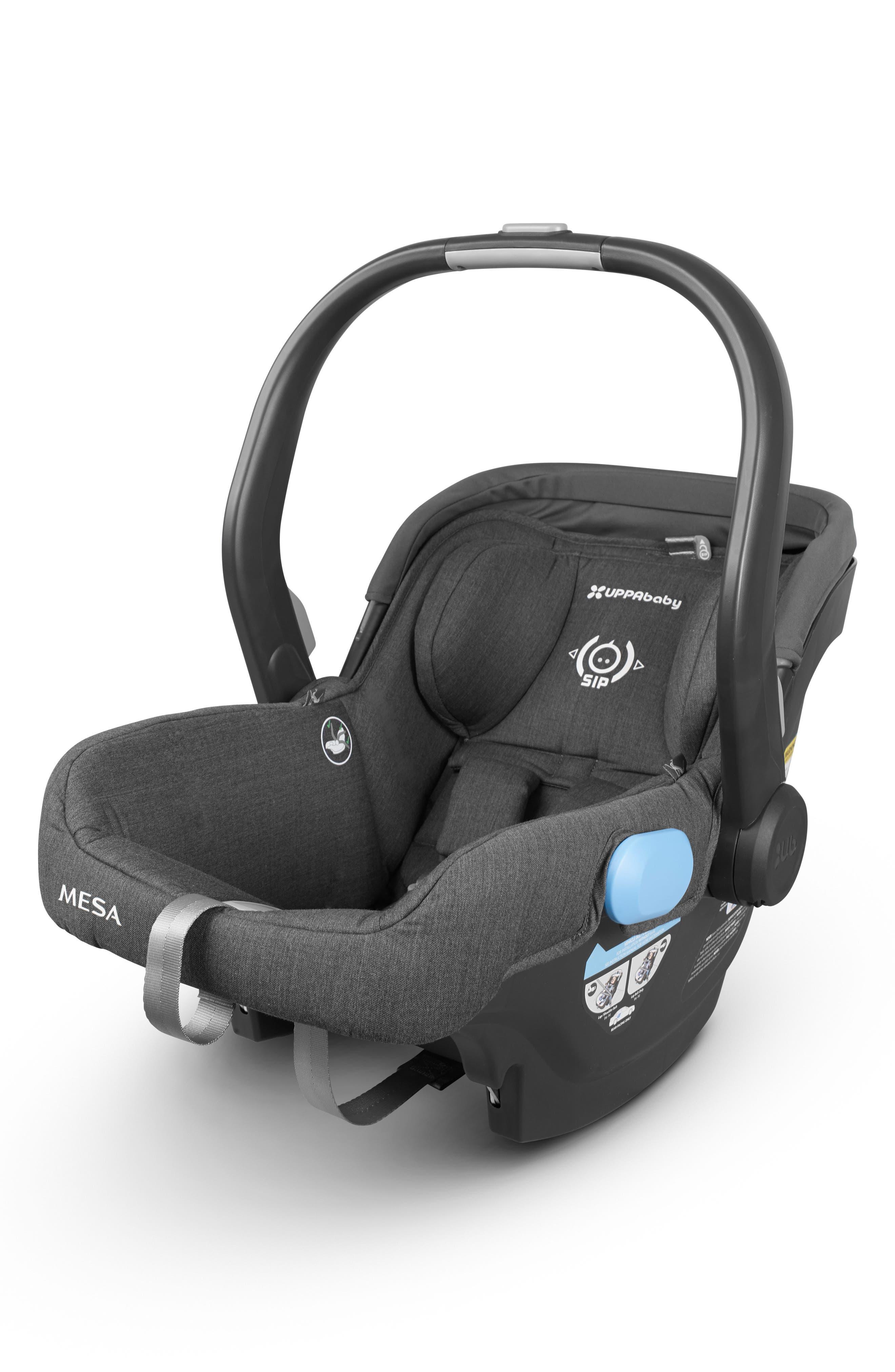 UPPABABY, MESA 2018 Infant Car Seat, Main thumbnail 1, color, JORDAN CHARCOAL/ WOOL