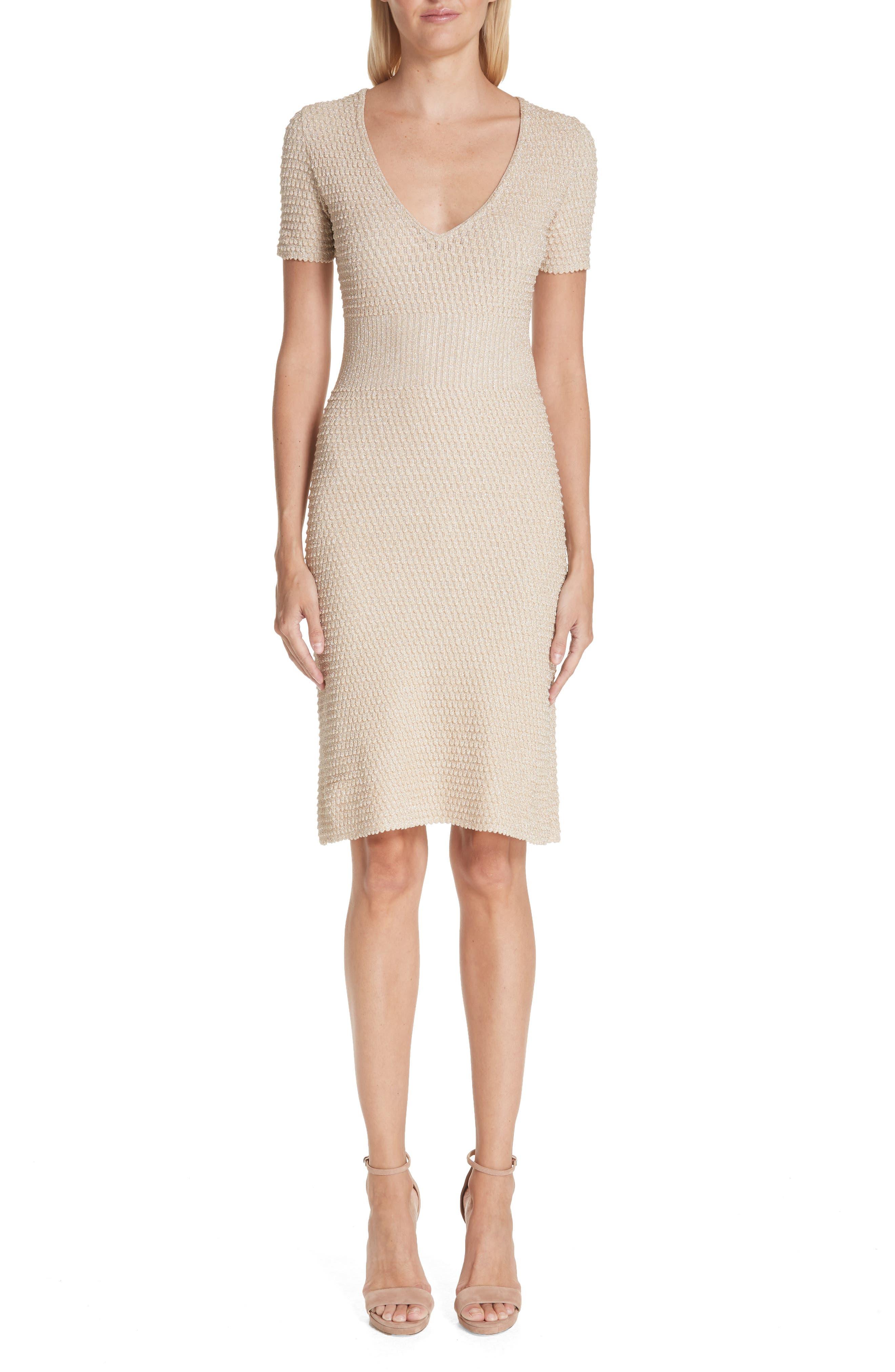 Missoni Metallic Knit Dress, US / 44 IT - Metallic