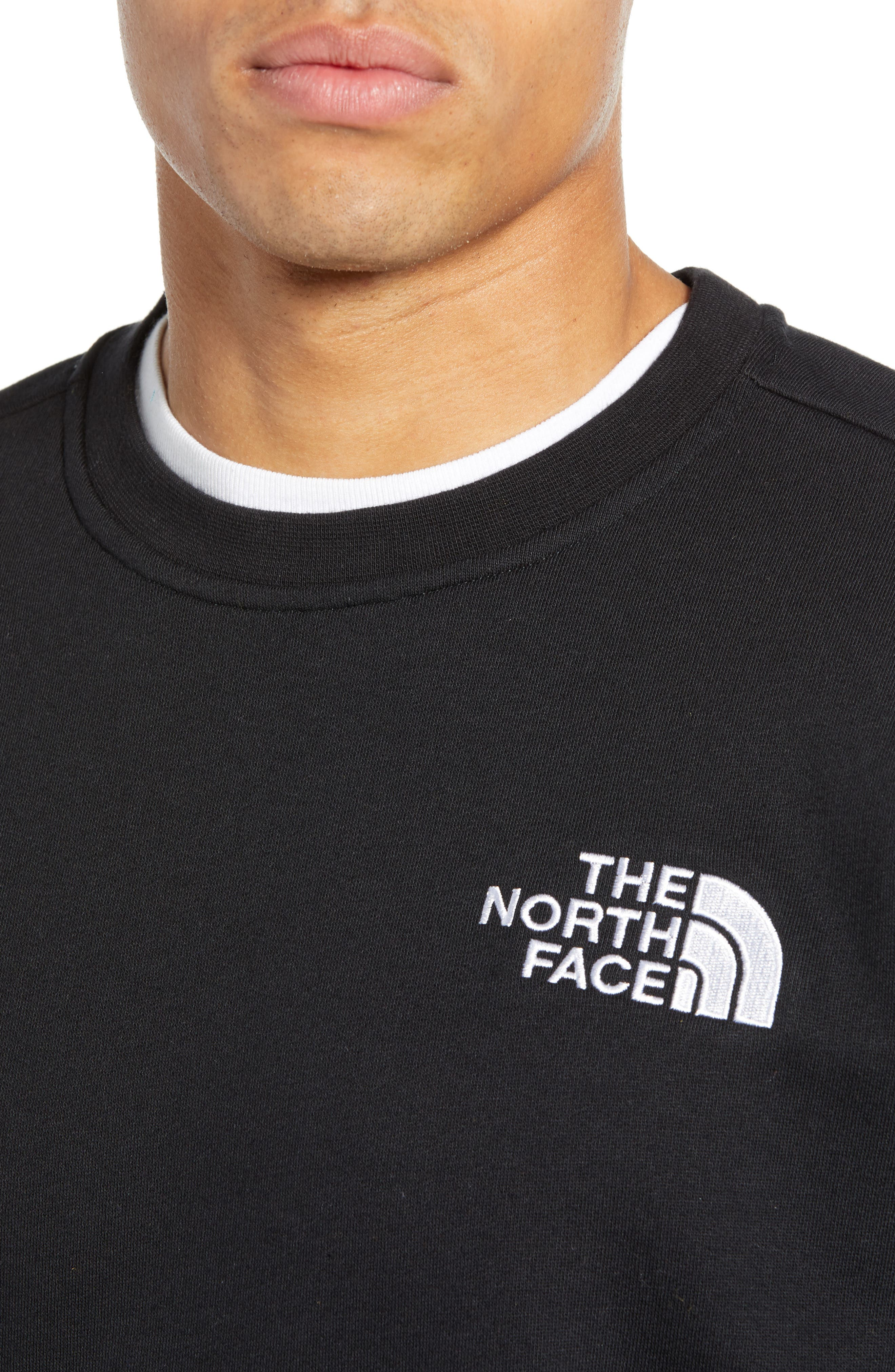 THE NORTH FACE, 1992 Rage Collection Sweatshirt, Alternate thumbnail 4, color, 001