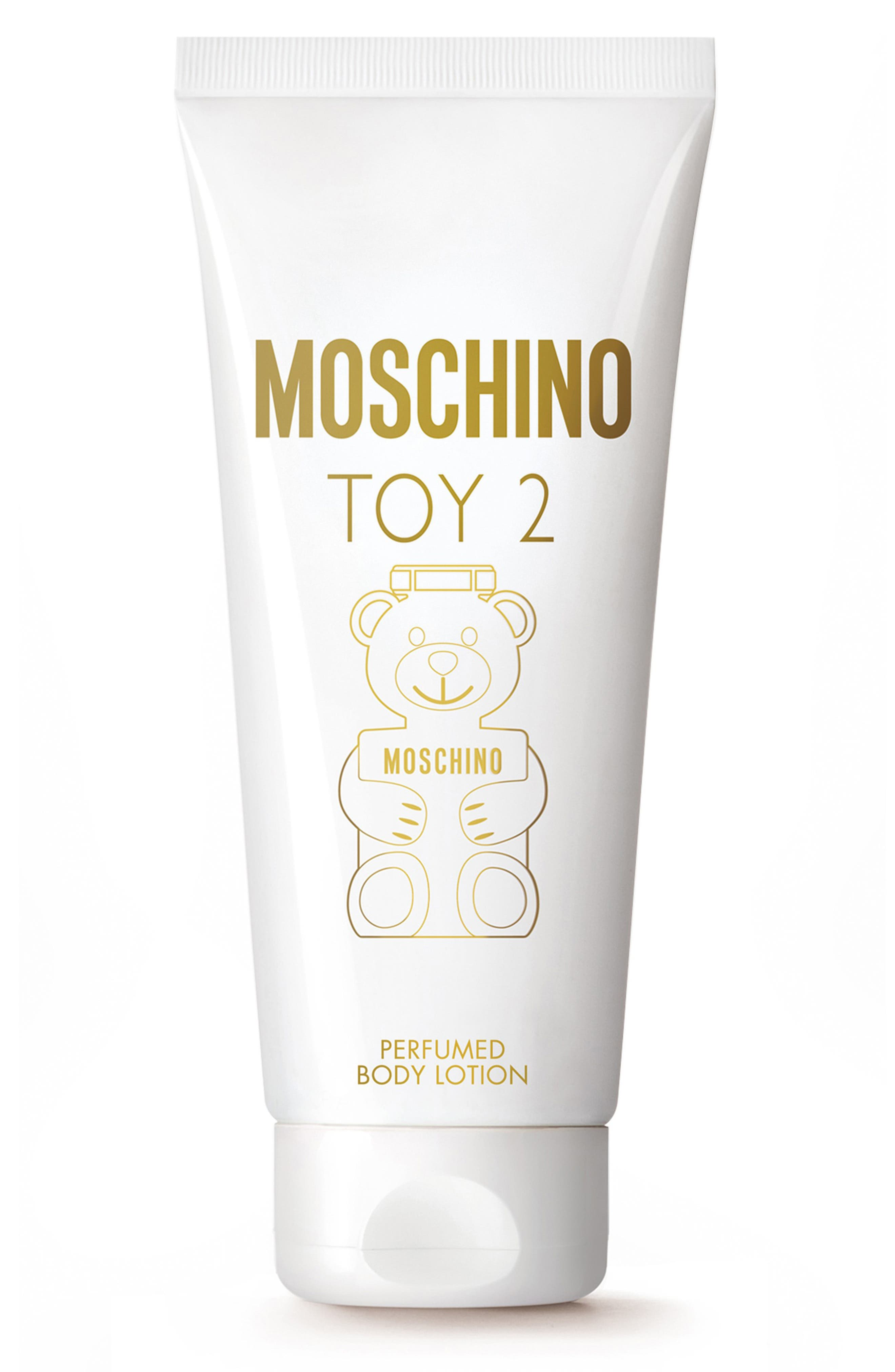 MOSCHINO, Toy 2 Perfumed Body Lotion, Main thumbnail 1, color, NO COLOR