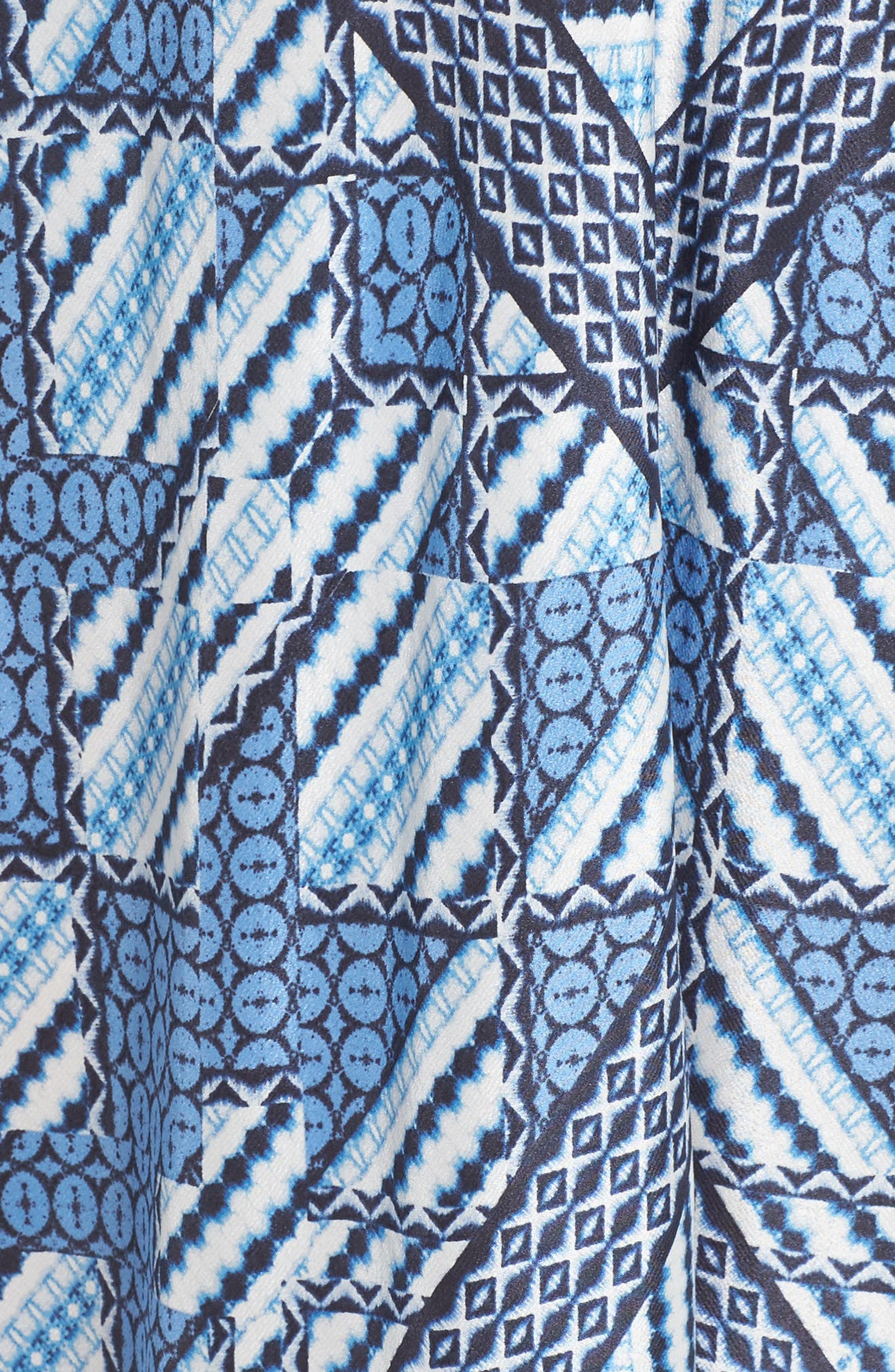 NIC+ZOE, Calypso Handkerchief Hem Sundress, Alternate thumbnail 5, color, 400