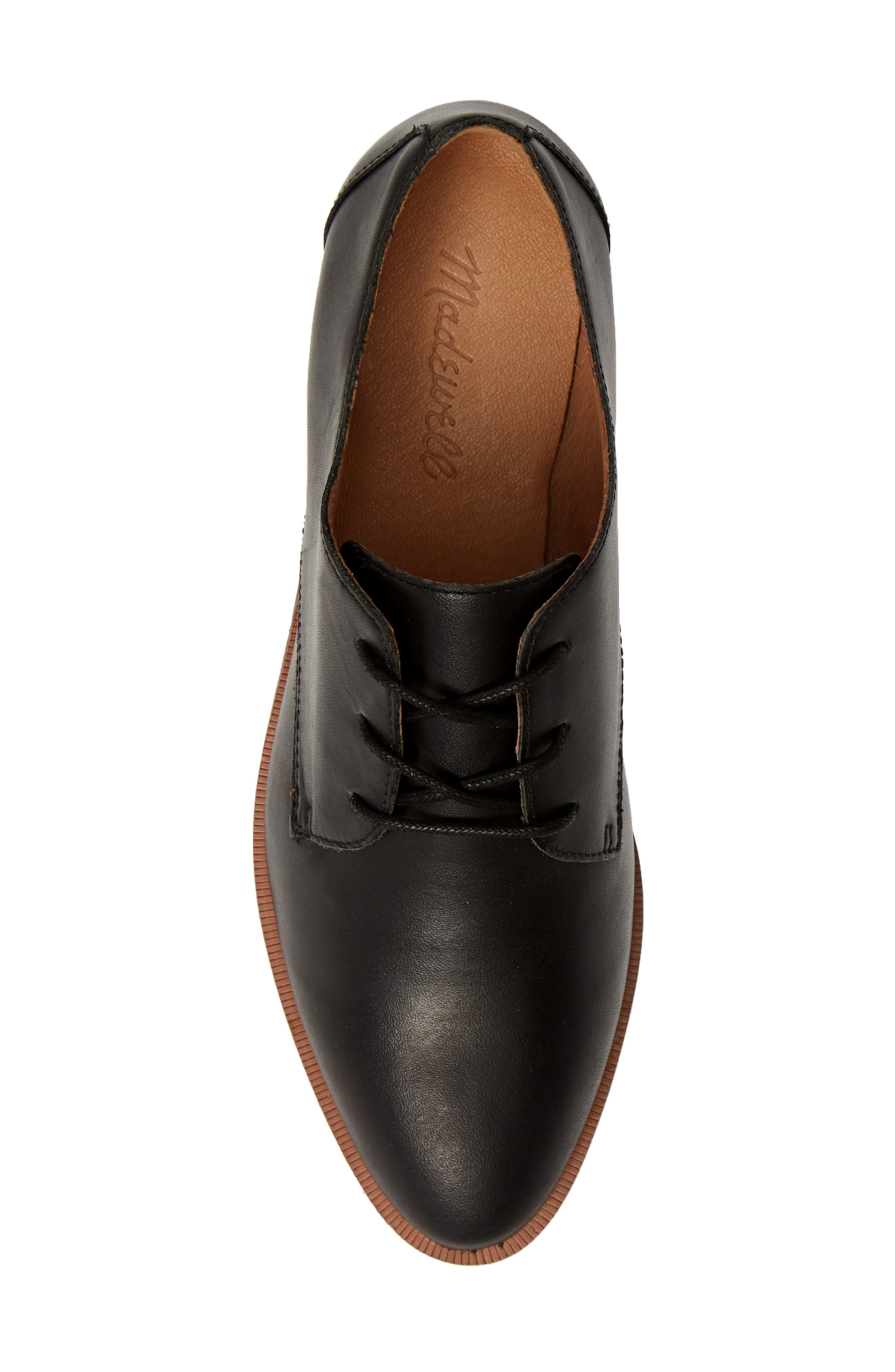 MADEWELL, The Frances Derby, Alternate thumbnail 5, color, TRUE BLACK