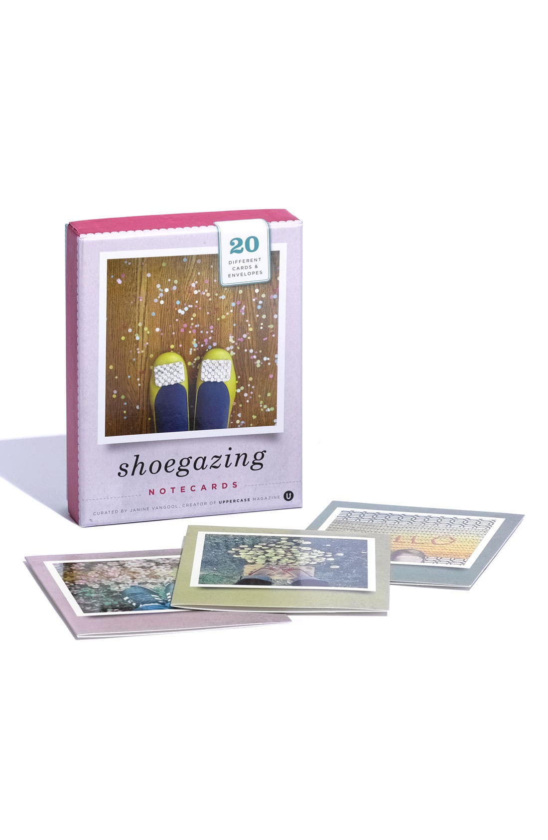 CHRONICLE BOOKS 'Shoegazing' Note Cards, Main, color, 000