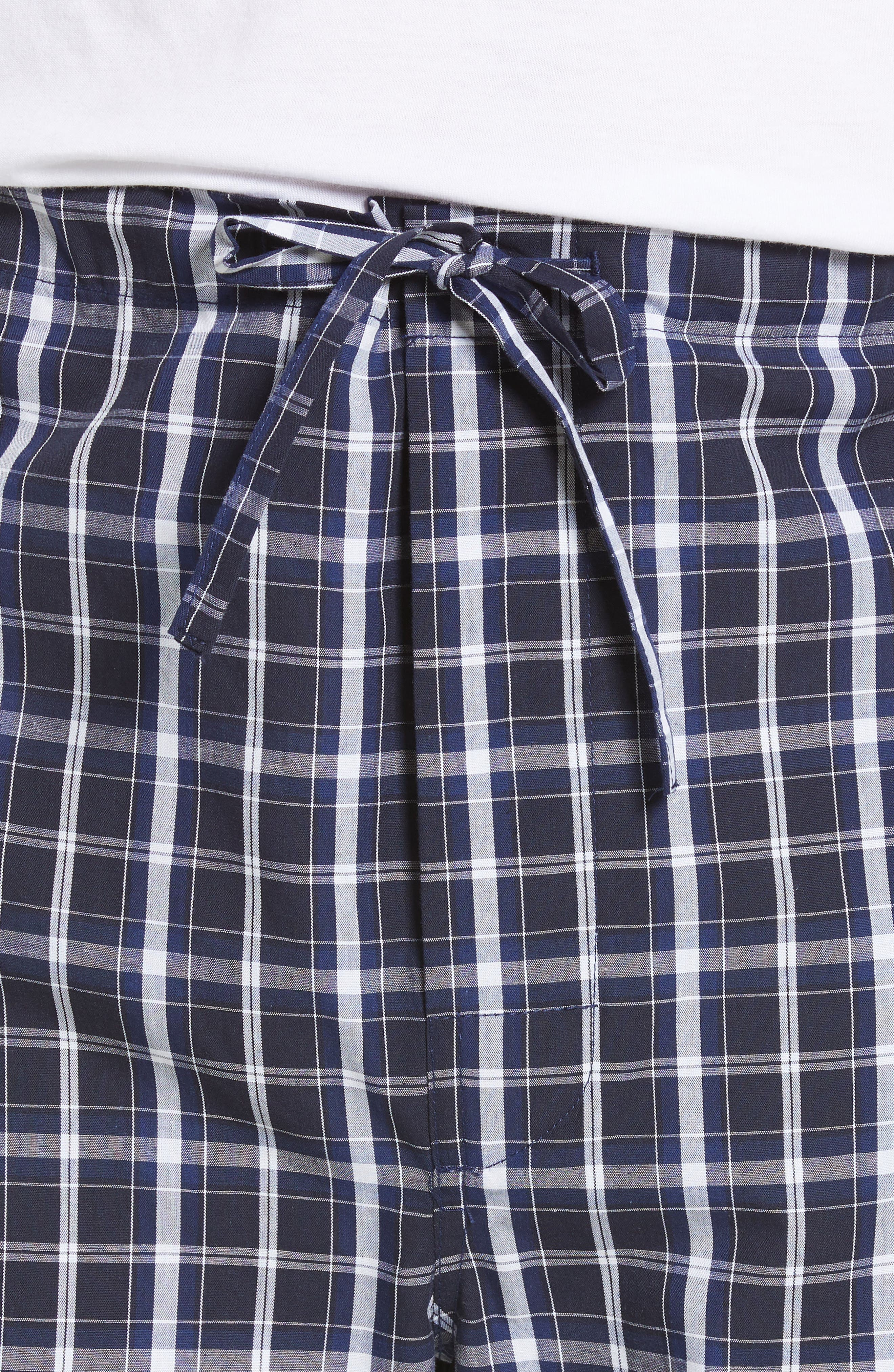 MAJESTIC INTERNATIONAL, Marcus Cotton Pajamas, Alternate thumbnail 4, color, 402