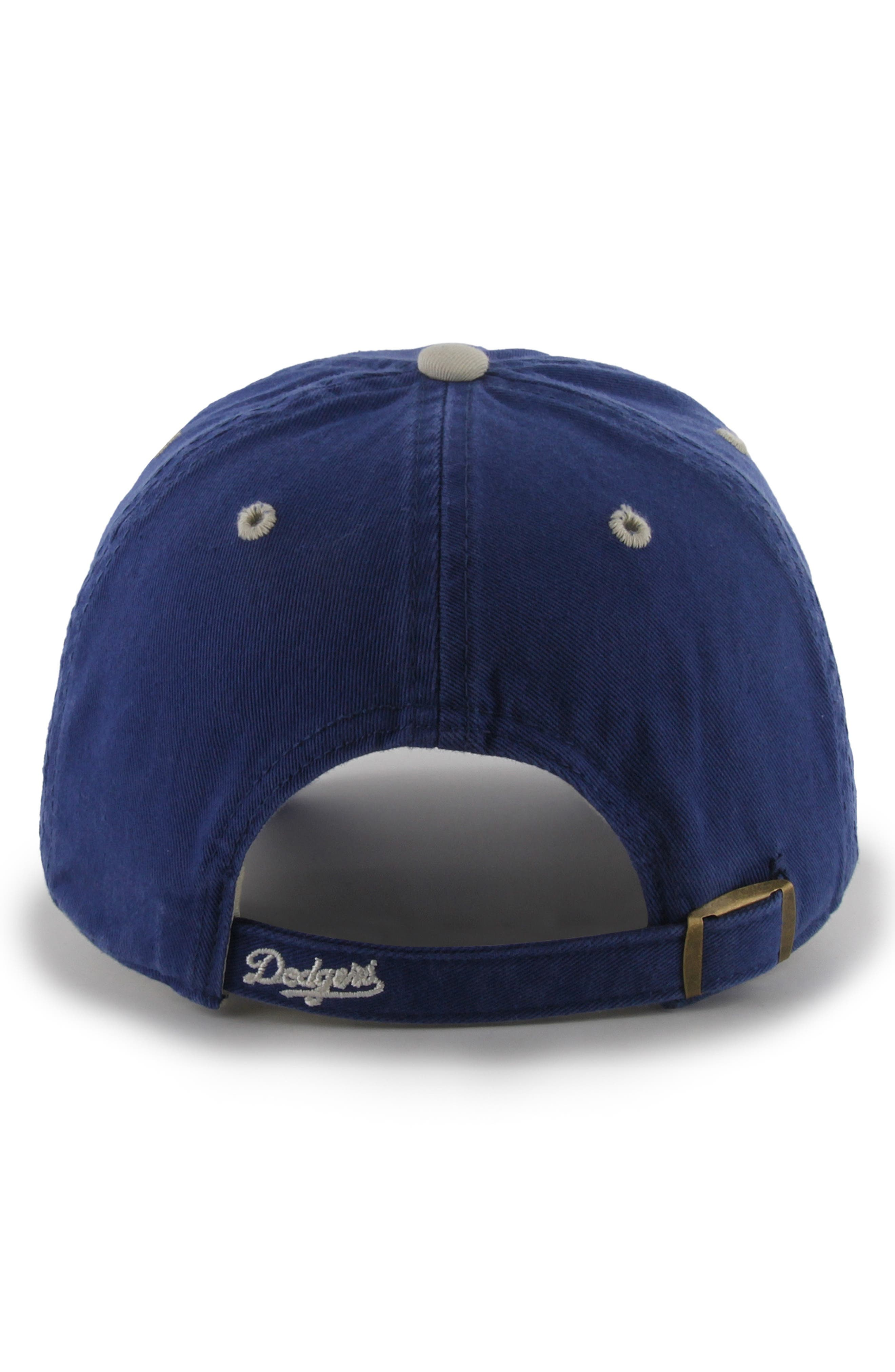 '47, Clean Up Dodgers Ball Cap, Alternate thumbnail 2, color, LA DODGERS