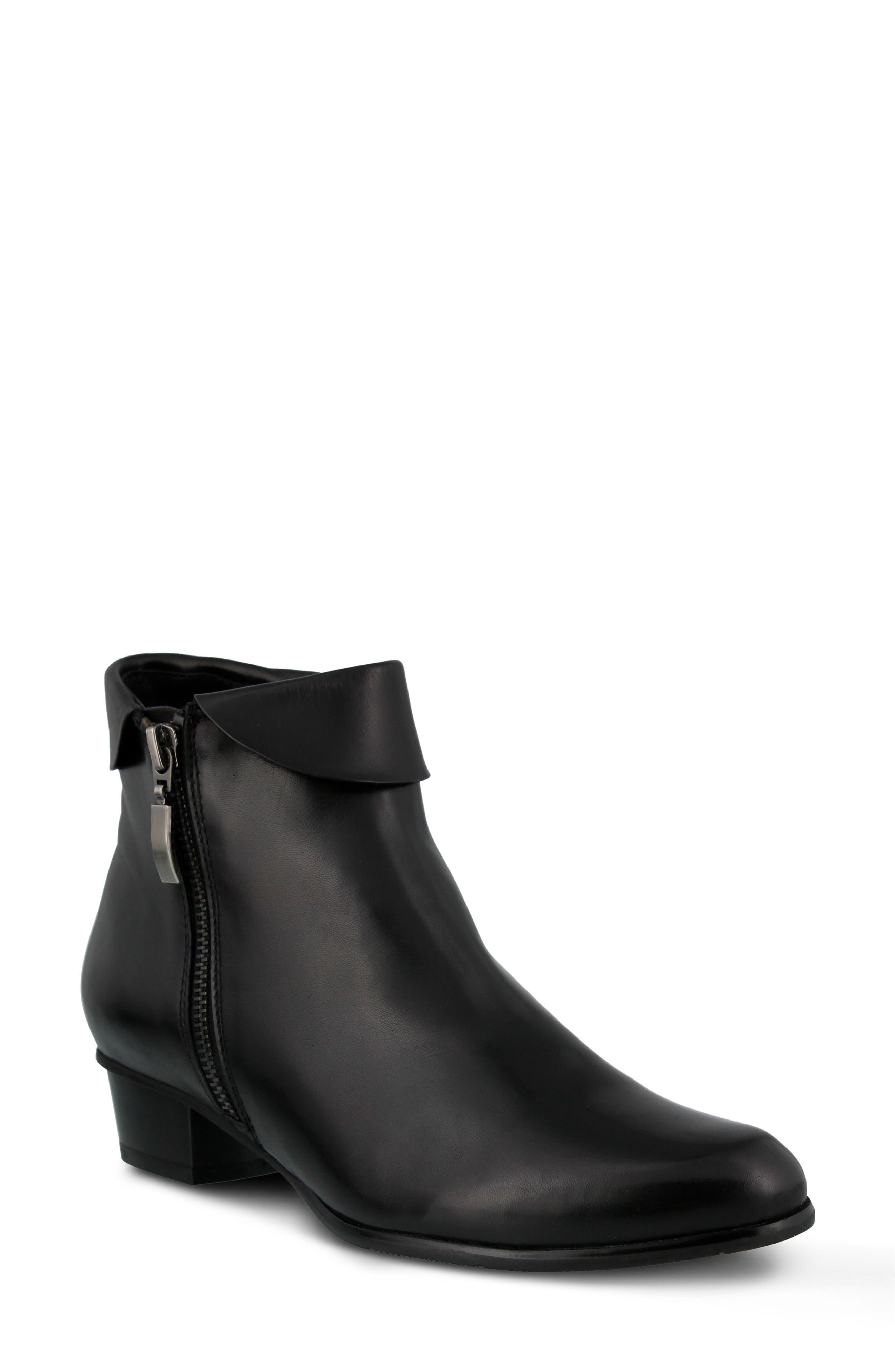 SPRING STEP 'Stockholm' Boot, Main, color, BLACK