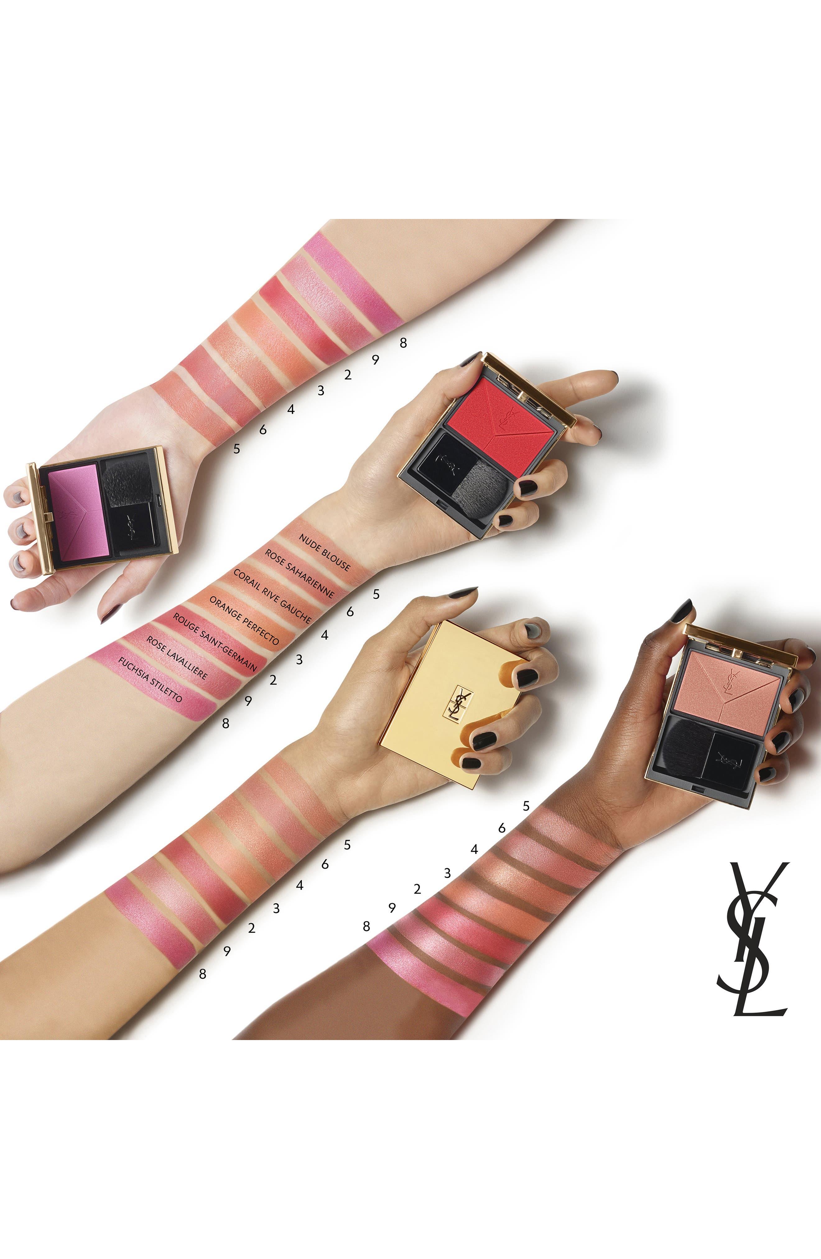 YVES SAINT LAURENT, Couture Blush, Alternate thumbnail 2, color, 05 NUDE BLOUSE