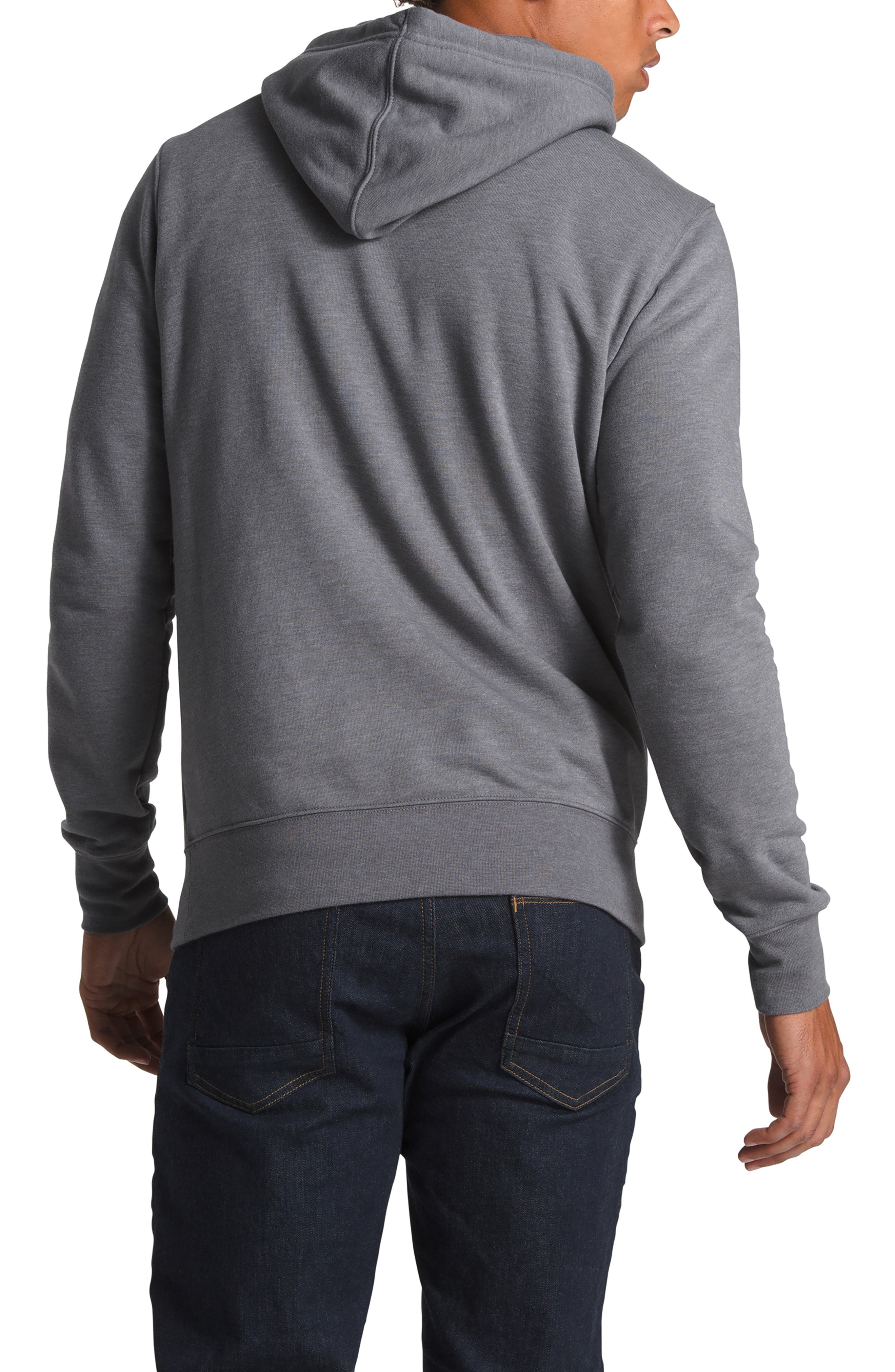 THE NORTH FACE, Gradient Sunset Pullover Hoodie, Alternate thumbnail 2, color, TNF MEDIUM GREY HEATHER