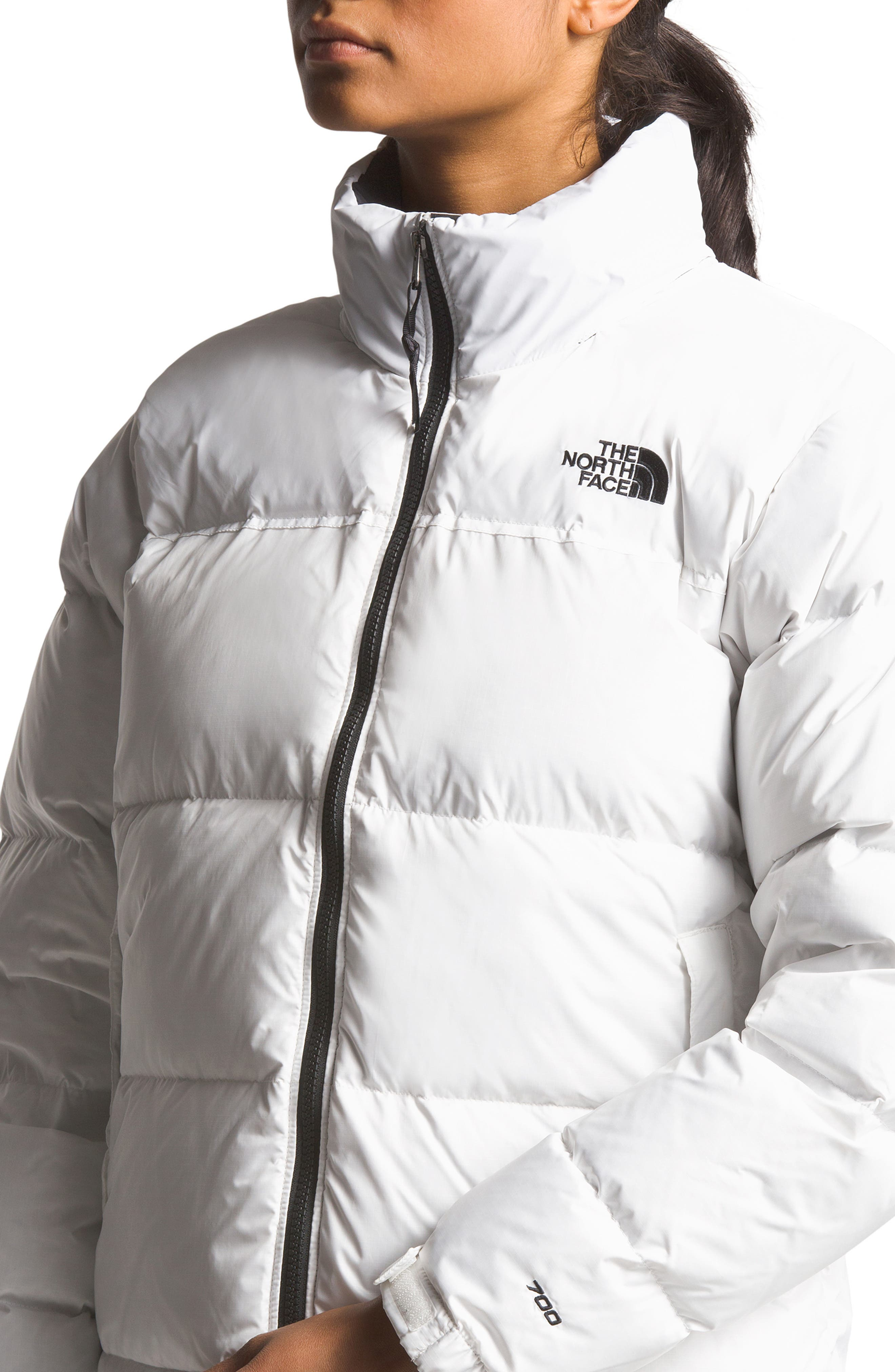 THE NORTH FACE, Nuptse 1996 Packable Quilted Down Jacket, Alternate thumbnail 4, color, TNF WHITE