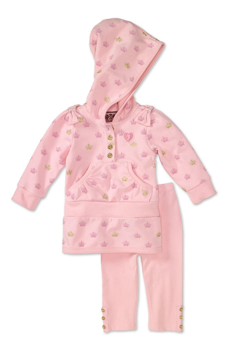 87c23ae22 Juicy Couture Hooded Tunic & Leggings (Infant) | Nordstrom