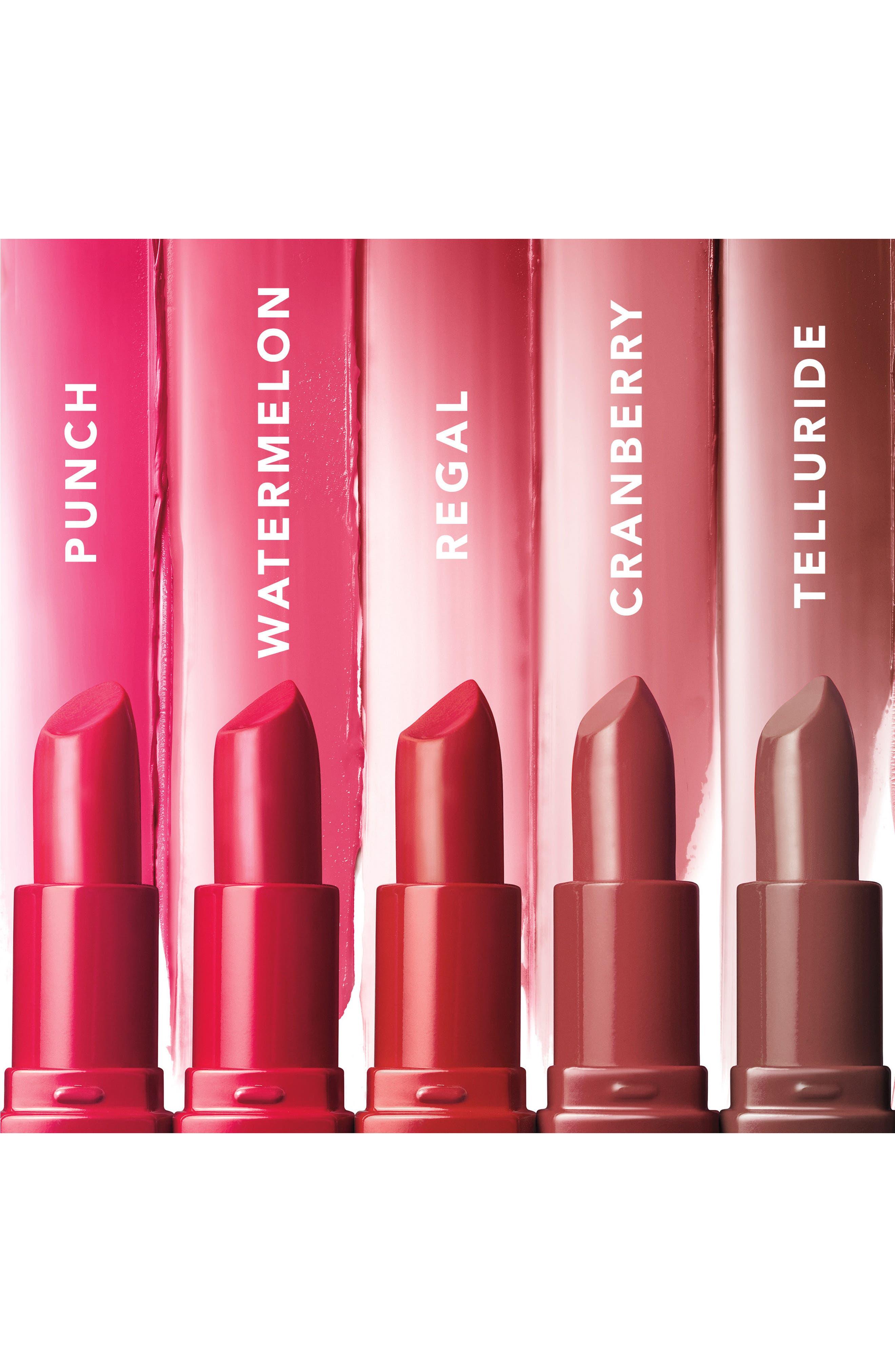 BOBBI BROWN, Crushed Lipstick, Alternate thumbnail 3, color, TELLURIDE / RED MAUVE