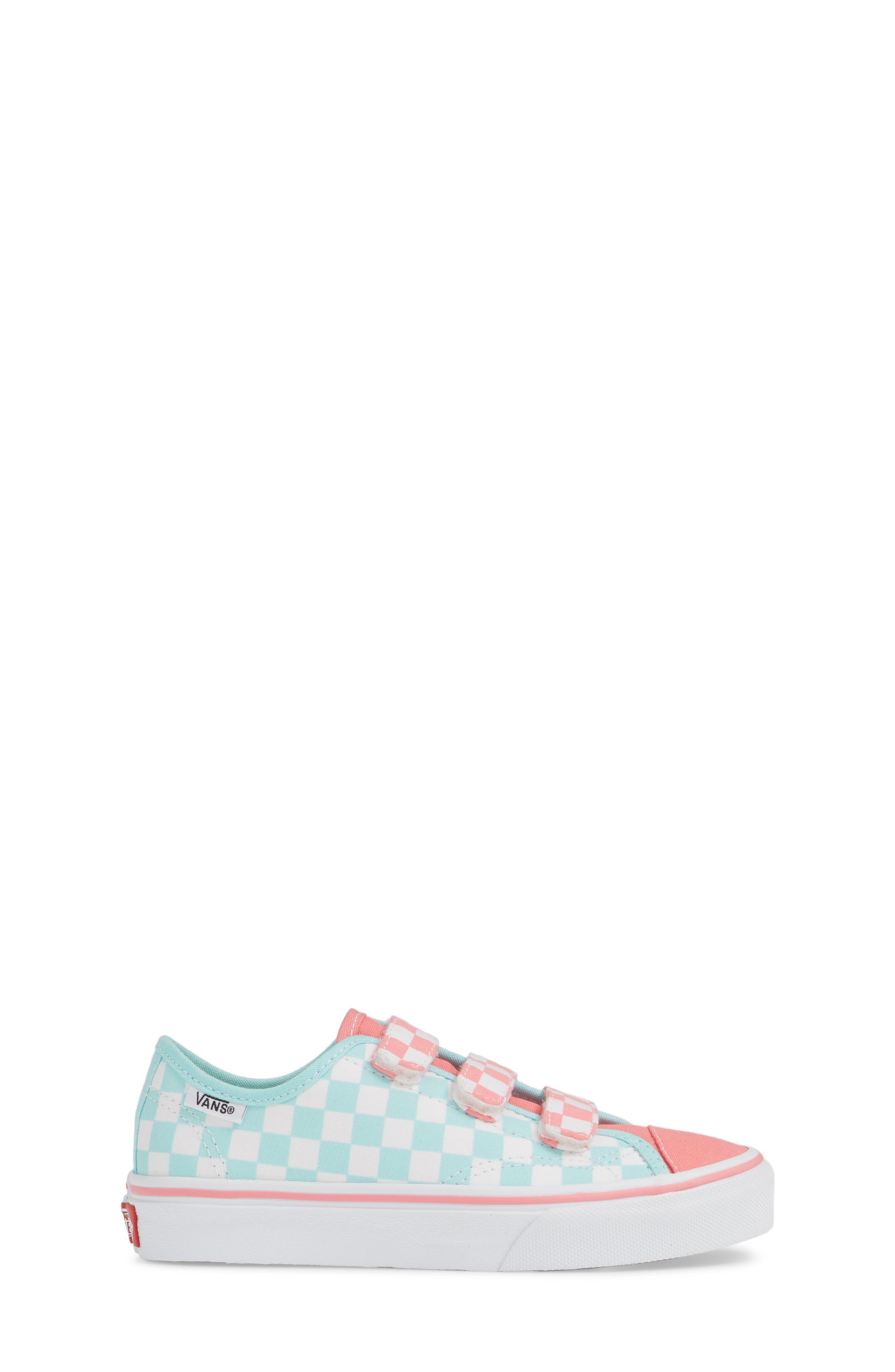 VANS, Style 23V Sneaker, Alternate thumbnail 3, color, BLUE TINT/ STRAWBERRY PINK
