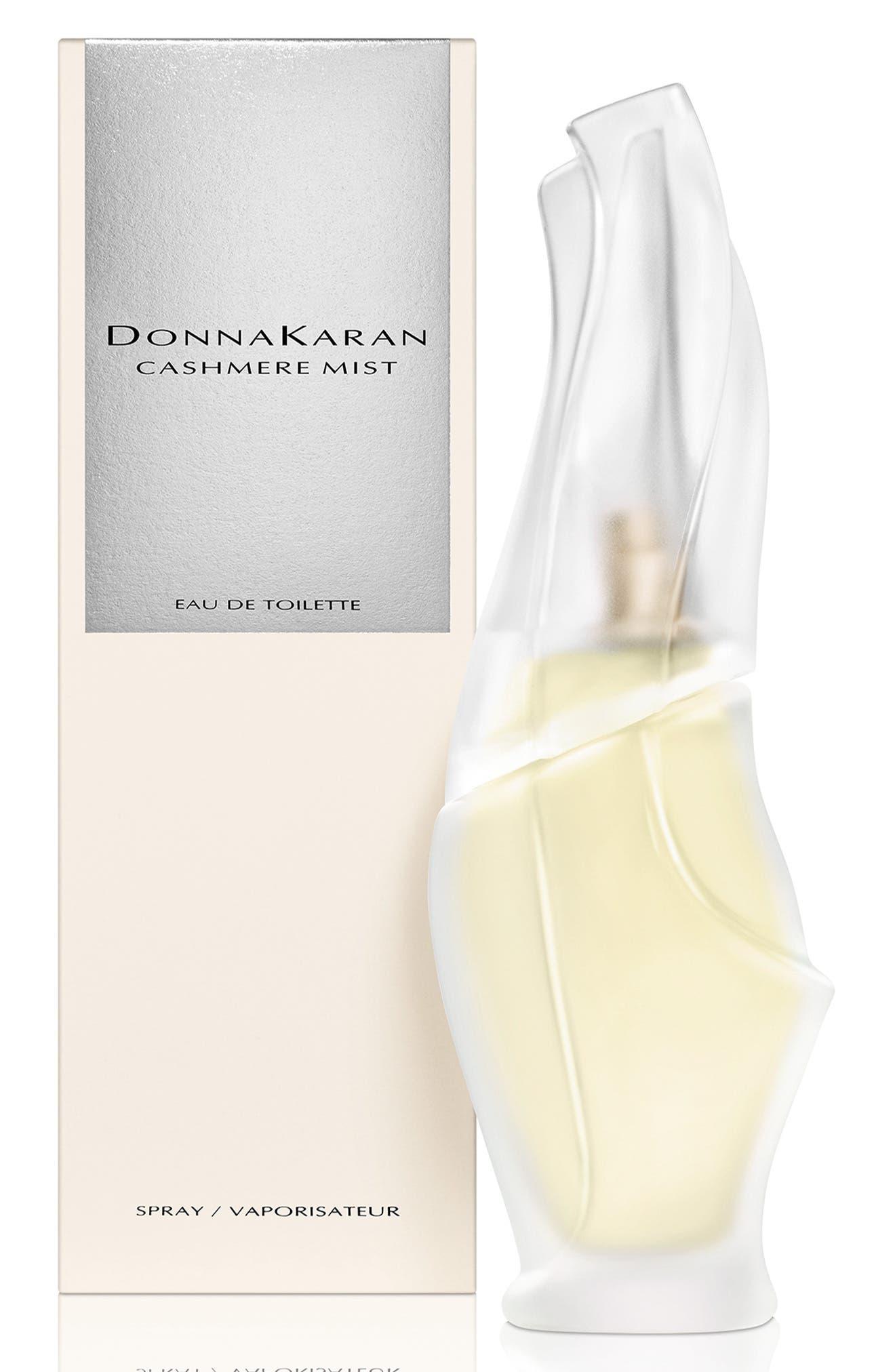 DONNA KARAN NEW YORK, Donna Karan 'Cashmere Mist' Eau de Toilette Spray, Main thumbnail 1, color, NO COLOR