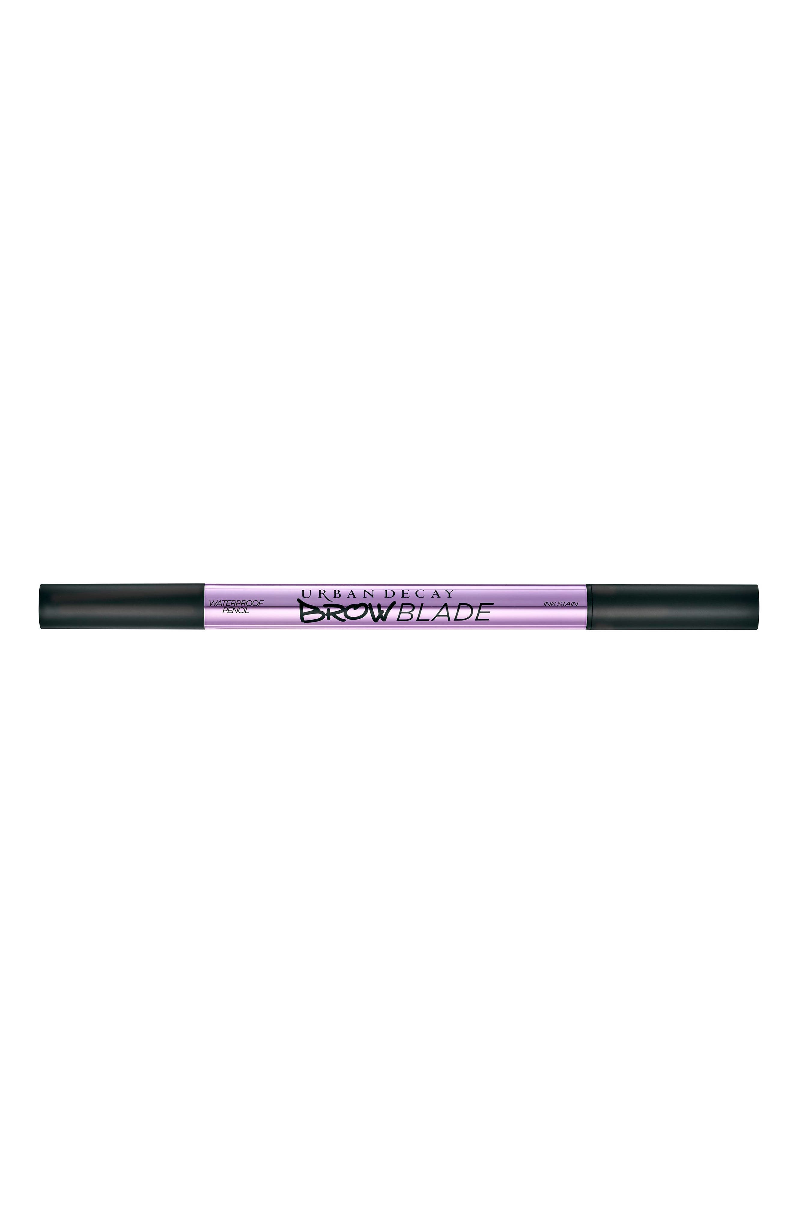 URBAN DECAY, Brow Blade Ink Stain & Waterproof Pencil, Alternate thumbnail 6, color, BROWN SUGAR