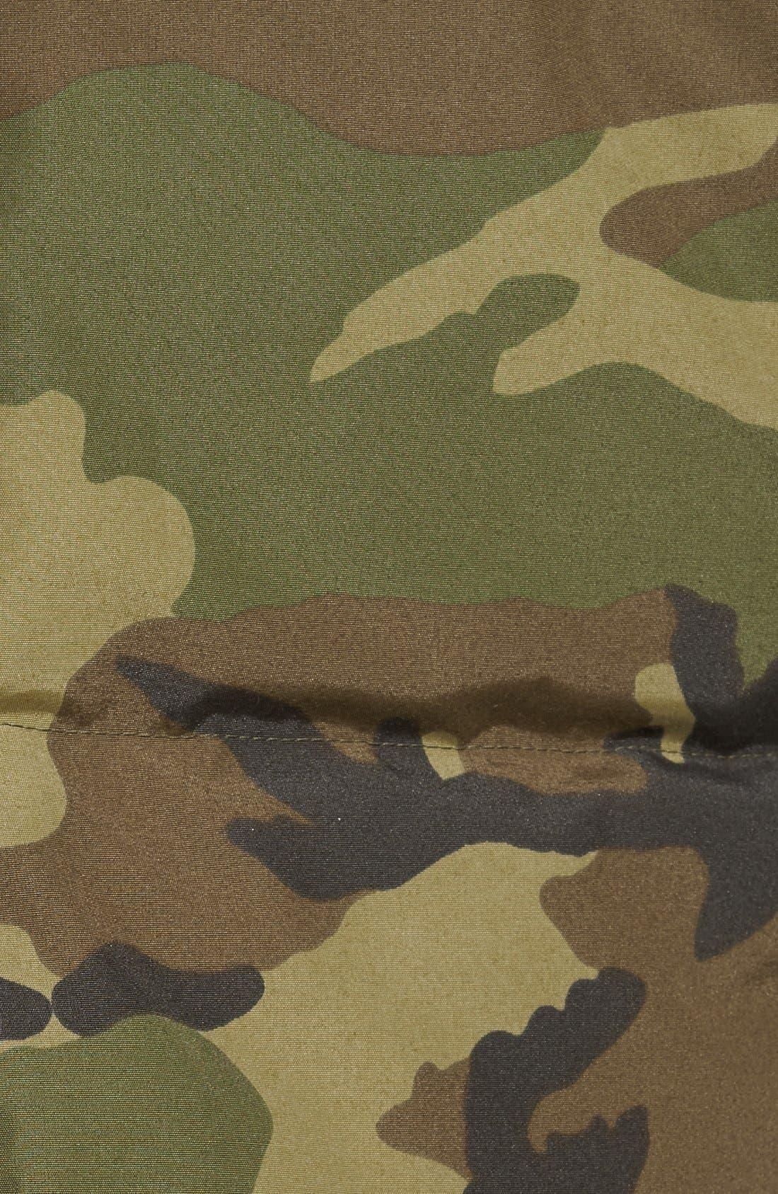 CANADA GOOSE, 'MacMillan' Slim Fit Hooded Parka, Alternate thumbnail 5, color, CLASSIC CAMO