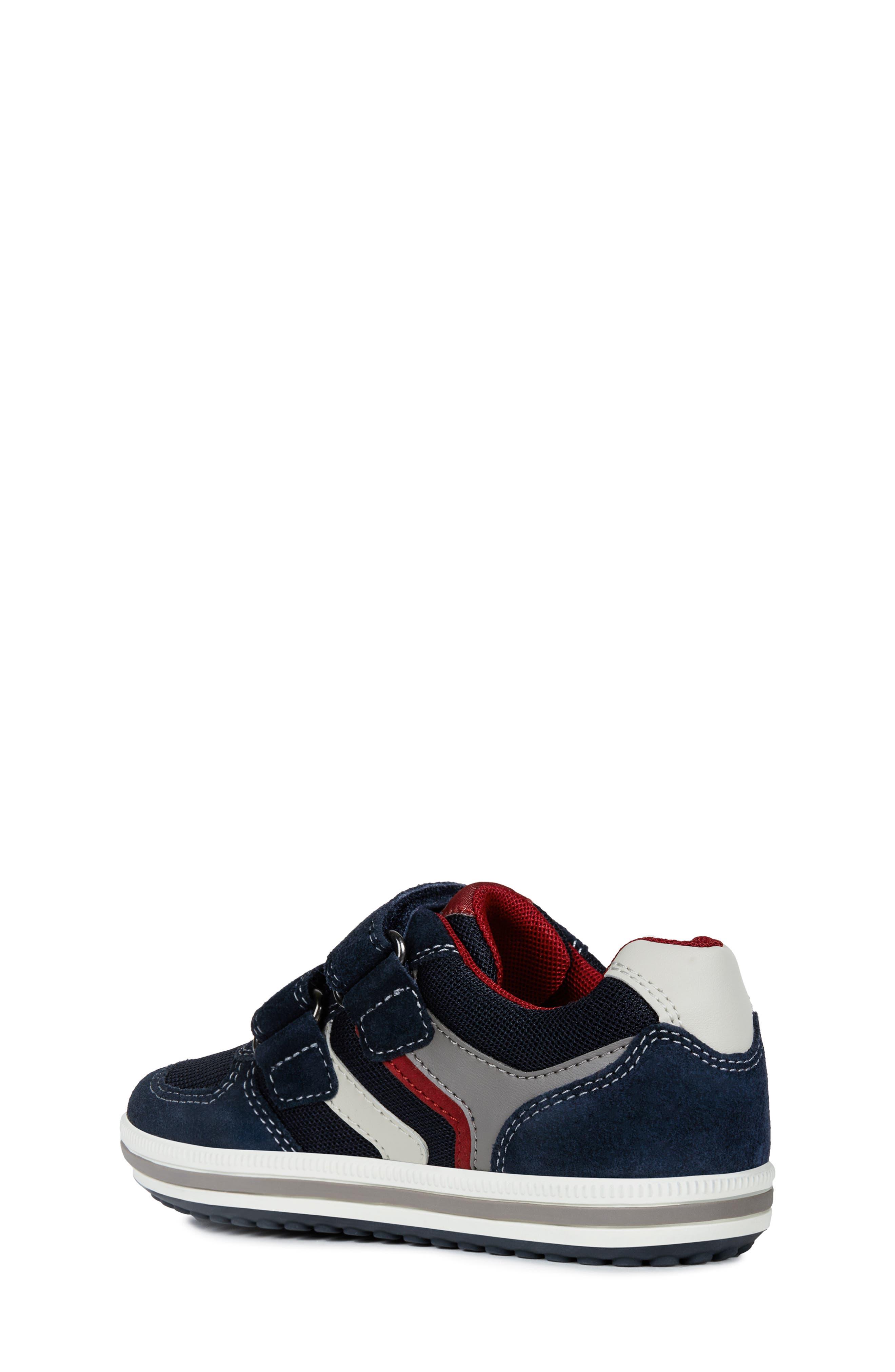 GEOX, 'Vita' Sneaker, Alternate thumbnail 2, color, NAVY/ RED
