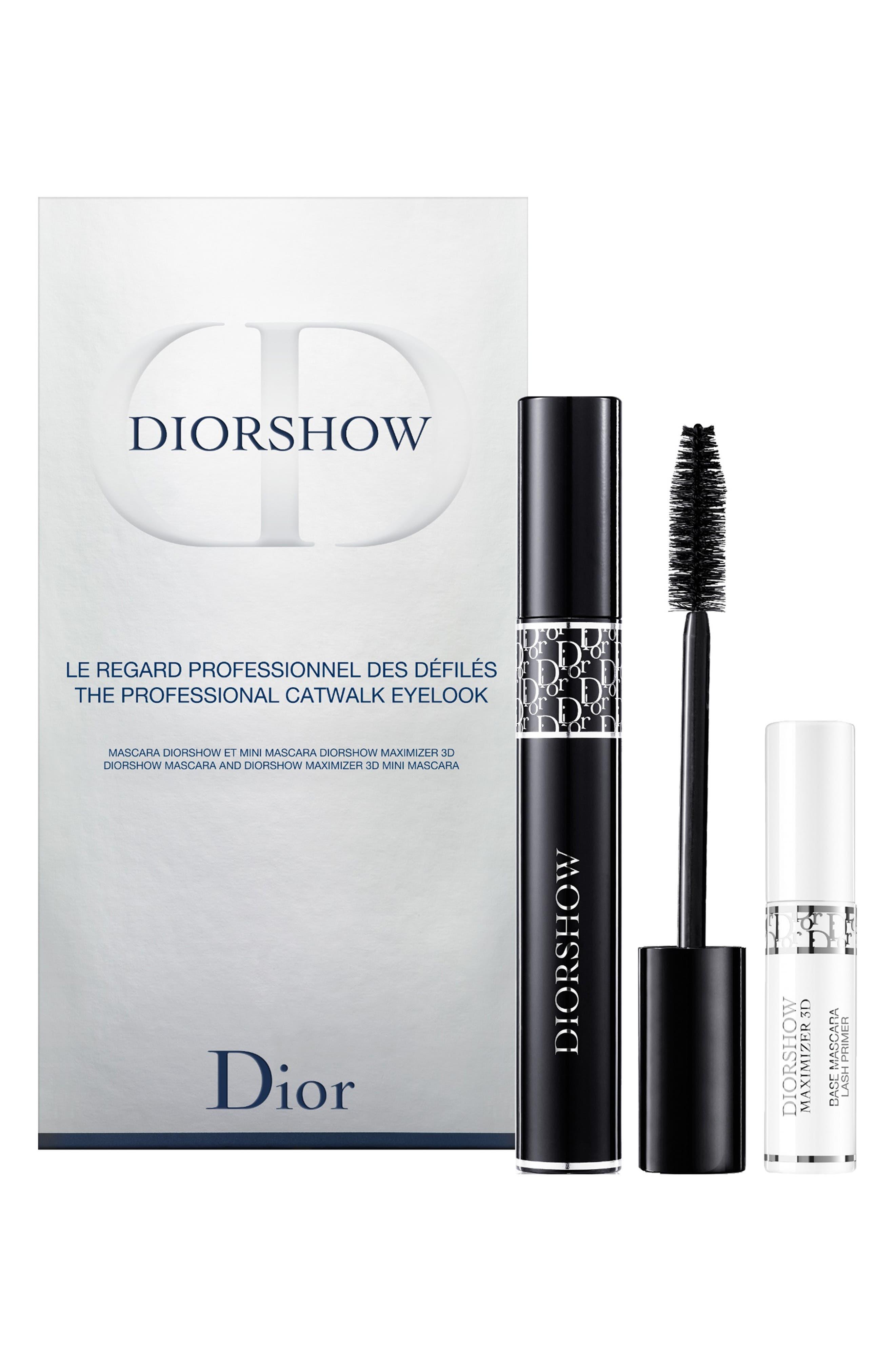 DIOR, Diorshow Mascara & Maximizer Duo, Main thumbnail 1, color, NO COLOR