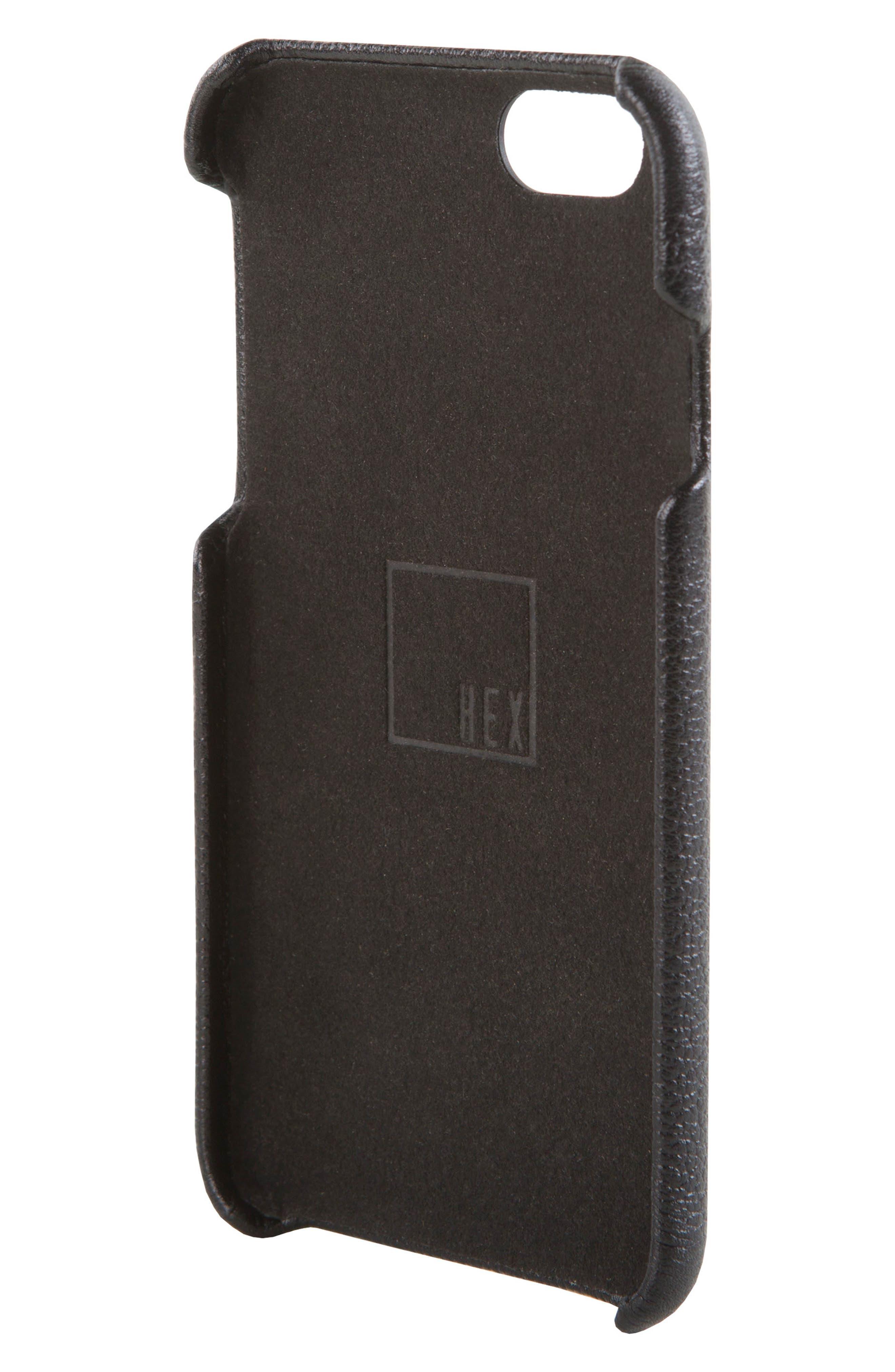 HEX, Solo iPhone 6/6s Wallet Case, Alternate thumbnail 4, color, 001