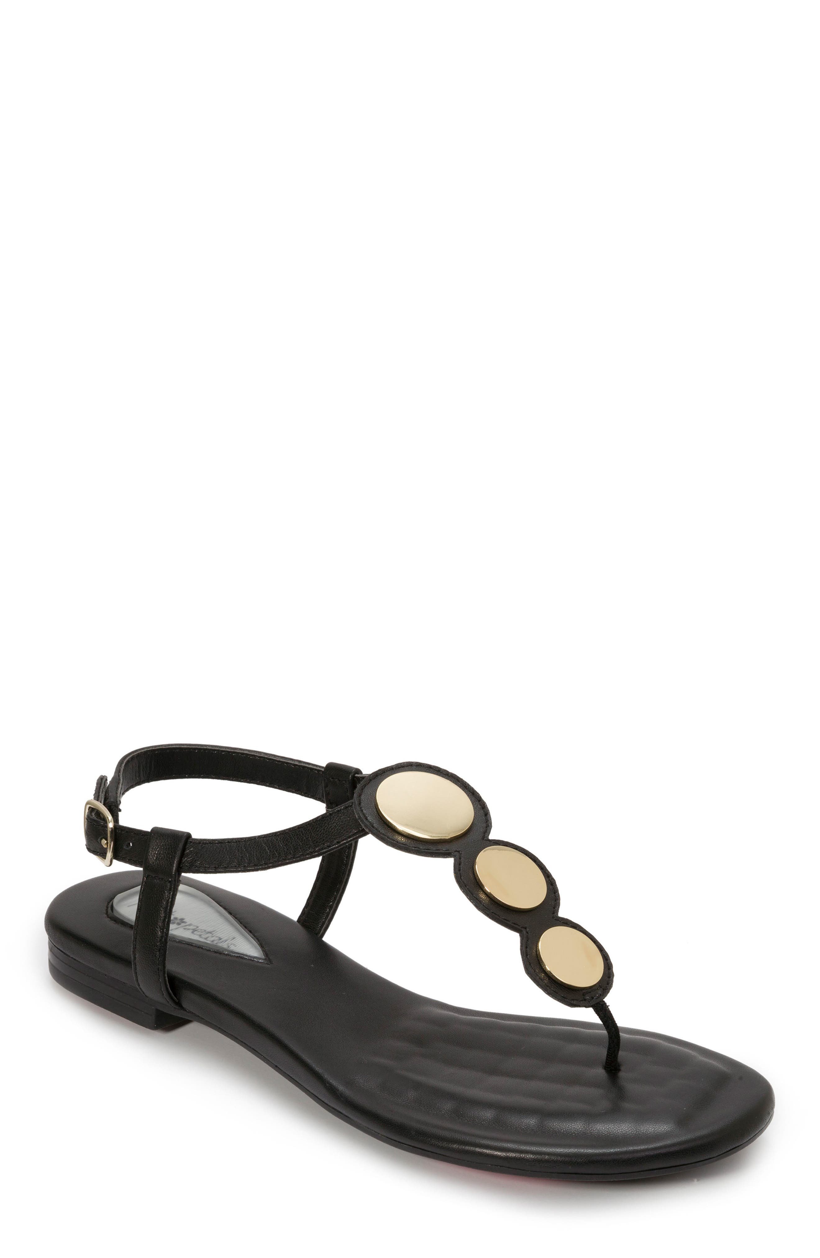 Foot Petals Ellie Sandal- Black