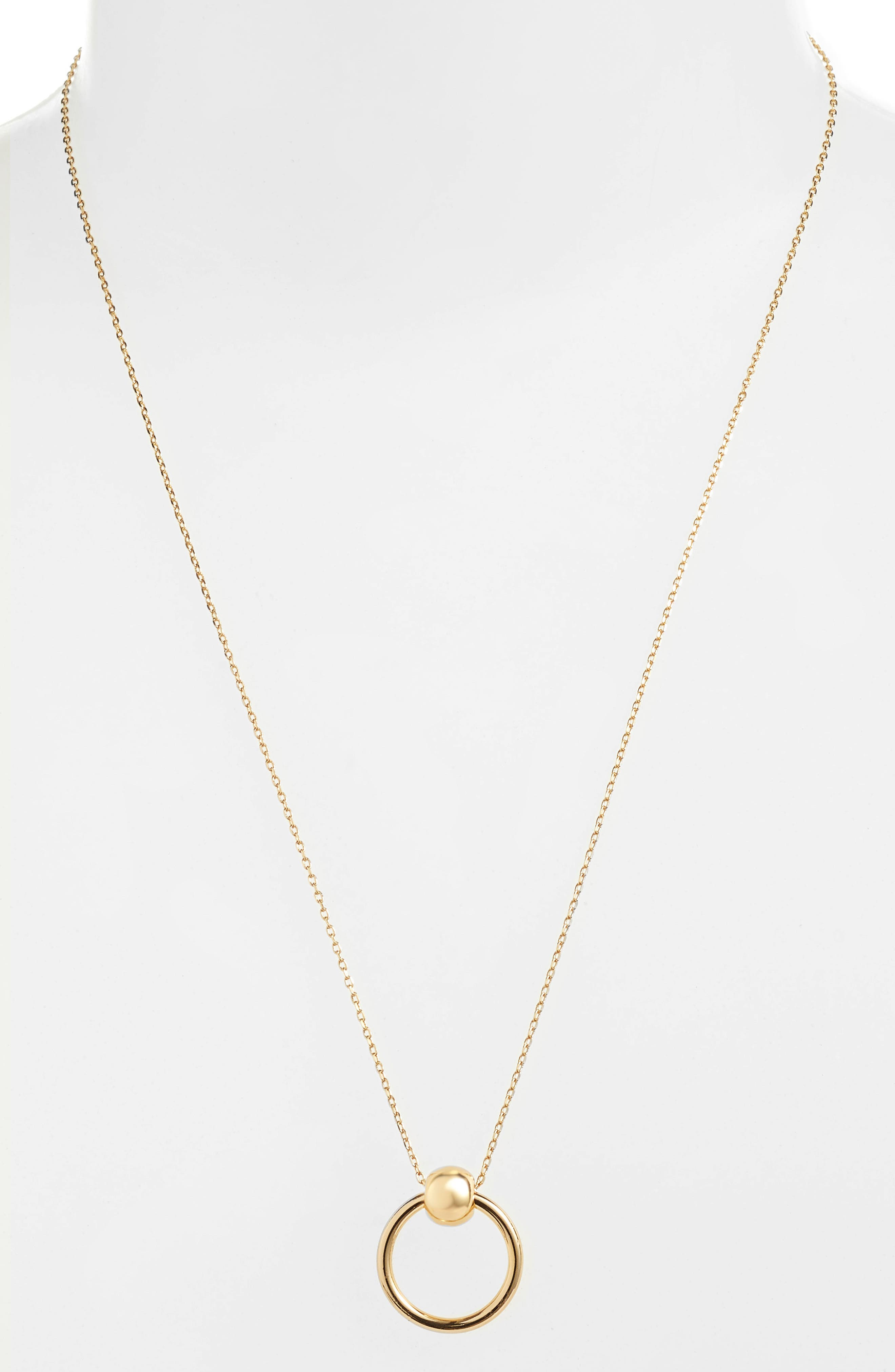 UNCOMMON JAMES BY KRISTIN CAVALLARI, Helix Necklace, Main thumbnail 1, color, GOLD
