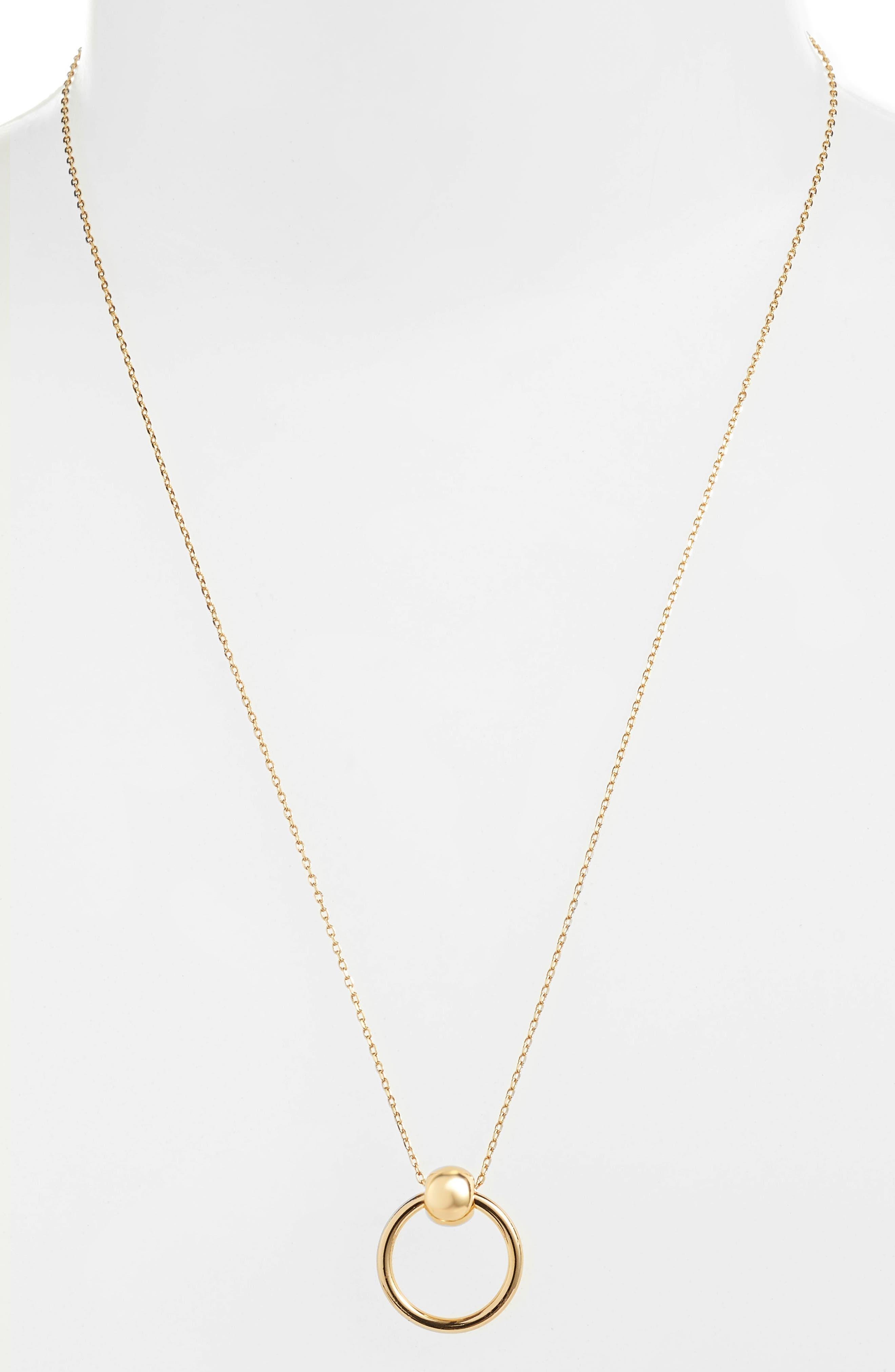 UNCOMMON JAMES BY KRISTIN CAVALLARI Helix Necklace, Main, color, GOLD