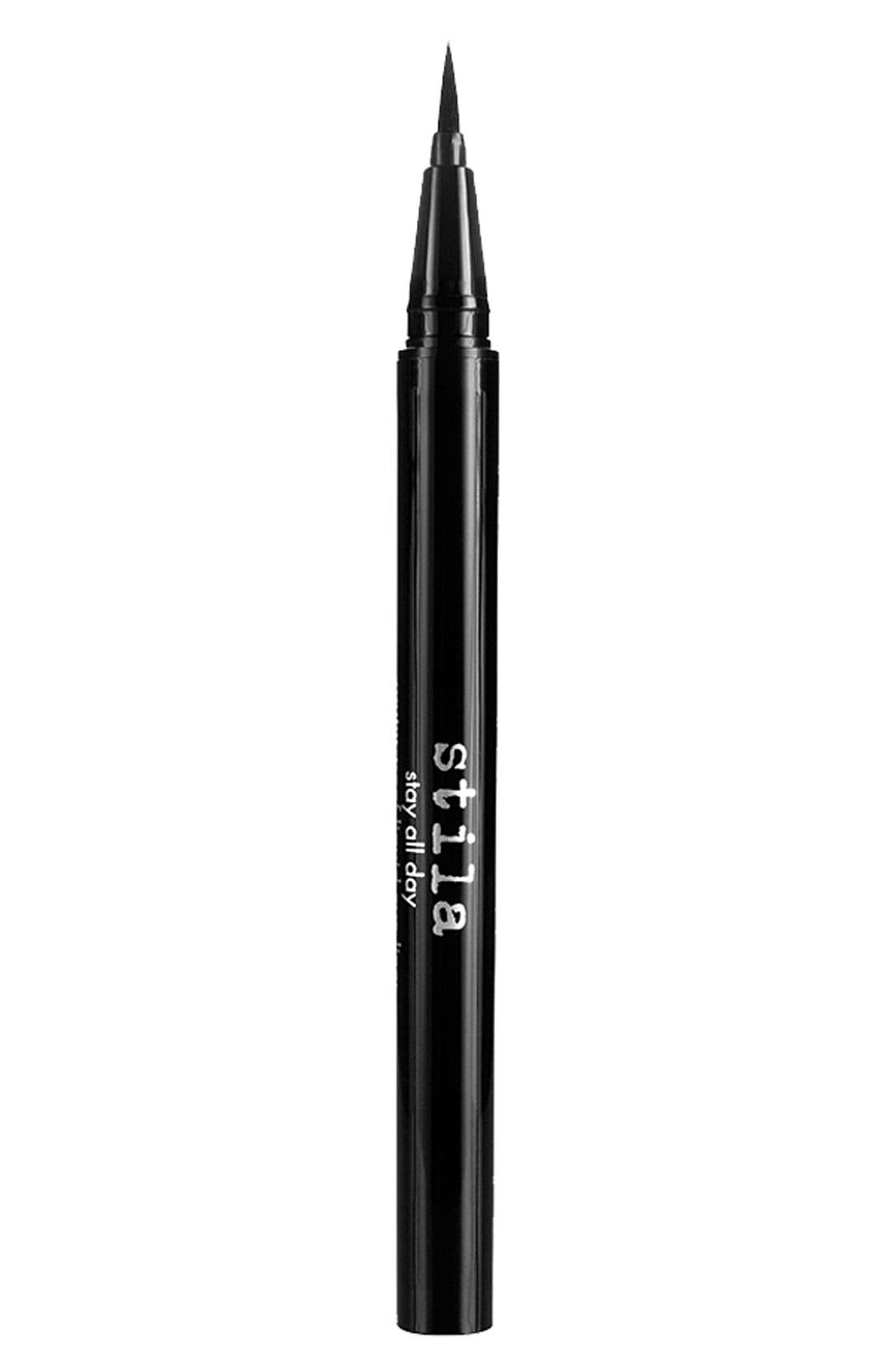 STILA, Stay All Day<sup>®</sup> Waterproof Liquid Eyeliner, Main thumbnail 1, color, ALLOY