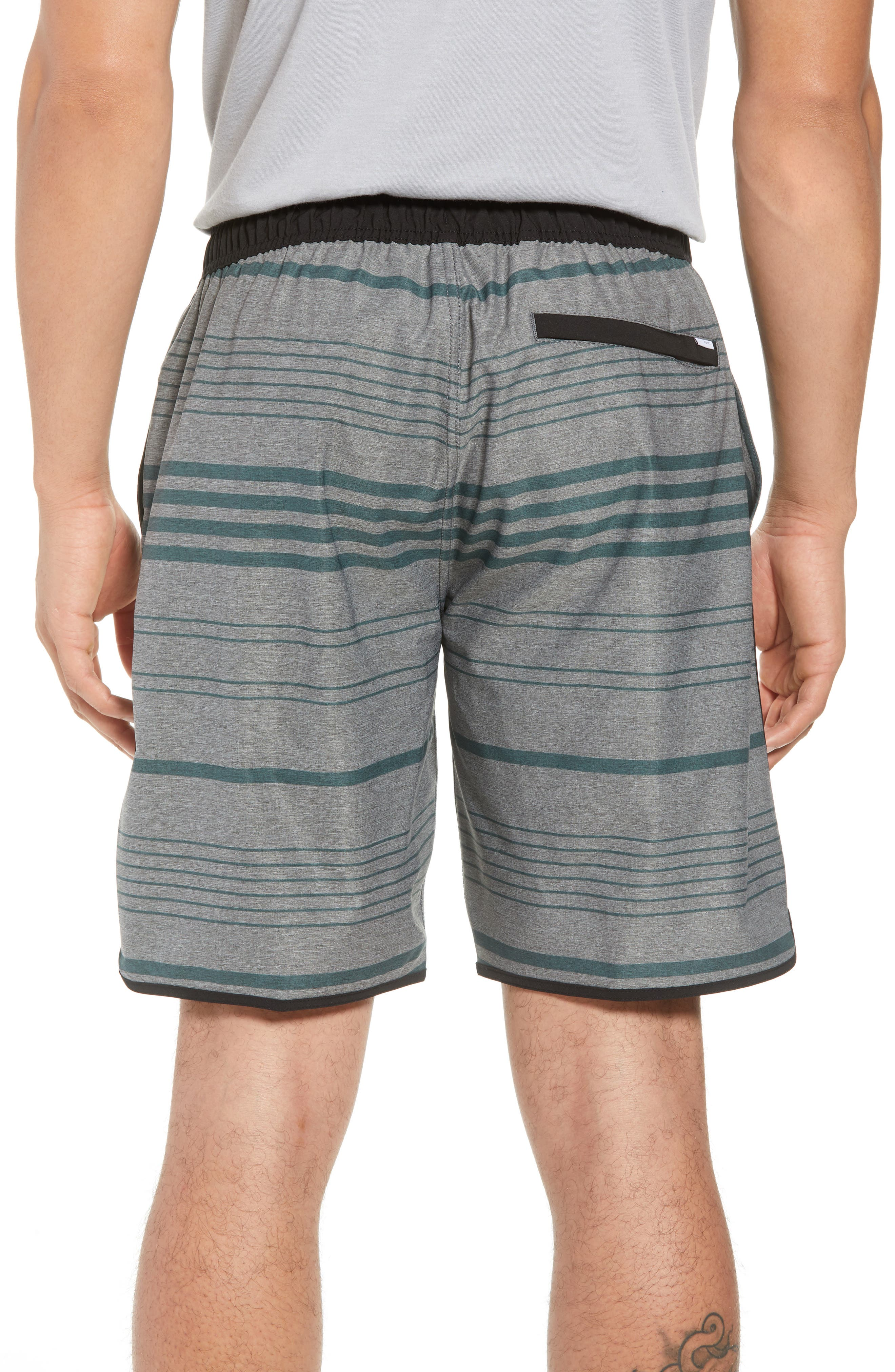 VUORI, Banks Performance Hybrid Shorts, Alternate thumbnail 2, color, CANYON MICRO STRIPE
