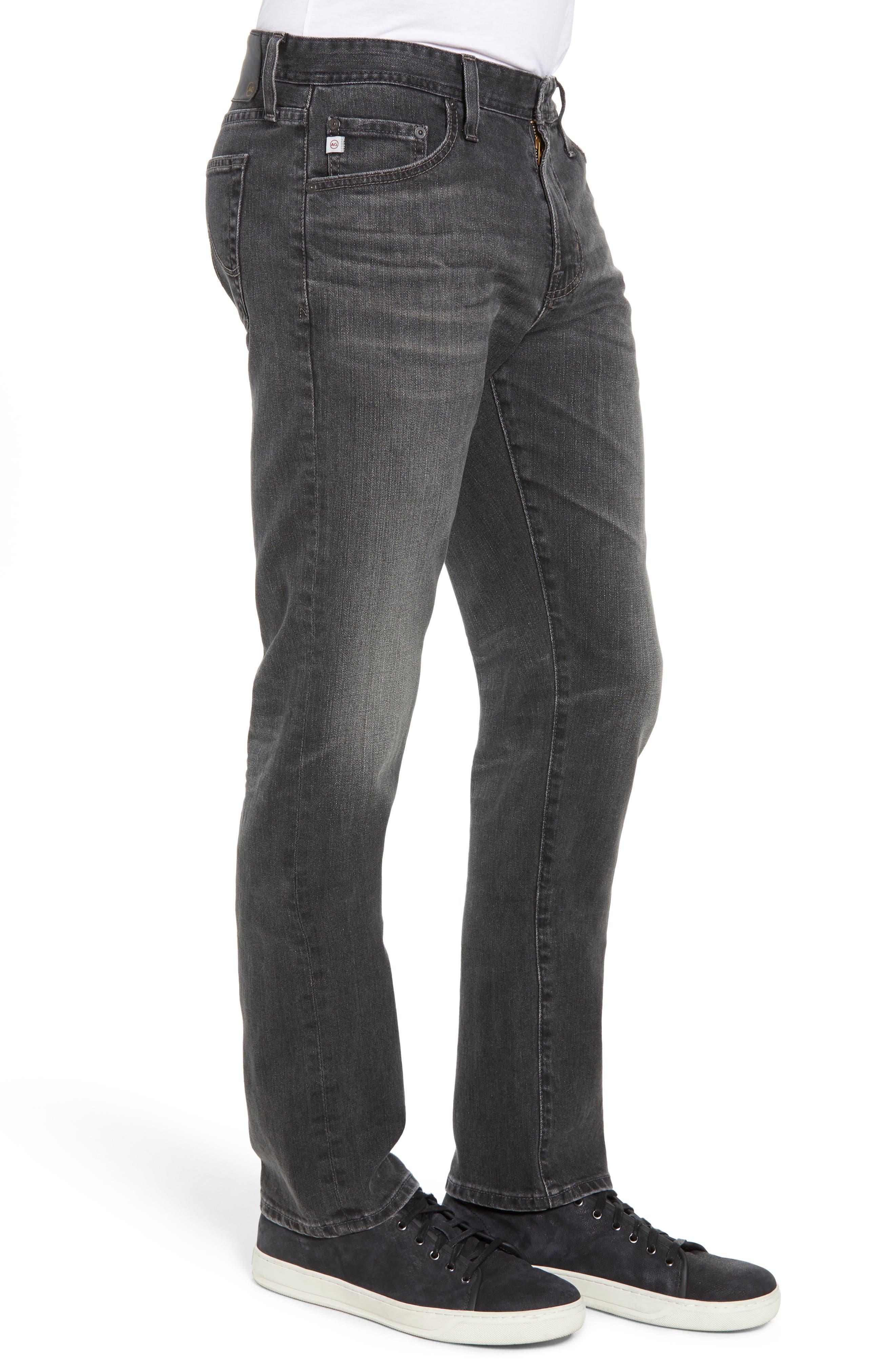 AG, Everett Slim Straight Leg Jeans, Alternate thumbnail 4, color, 6 YEARS ARCADE