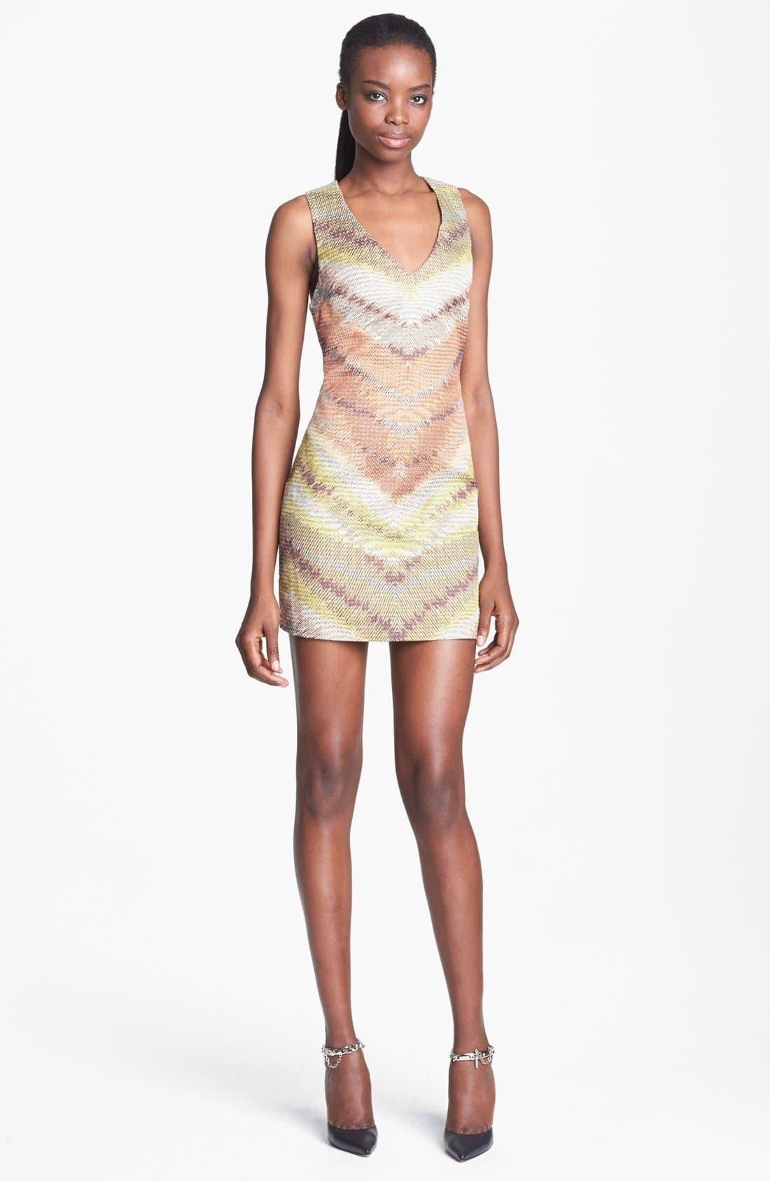 TRACY REESE Zigzag Raffia Shift Dress, Main, color, 798