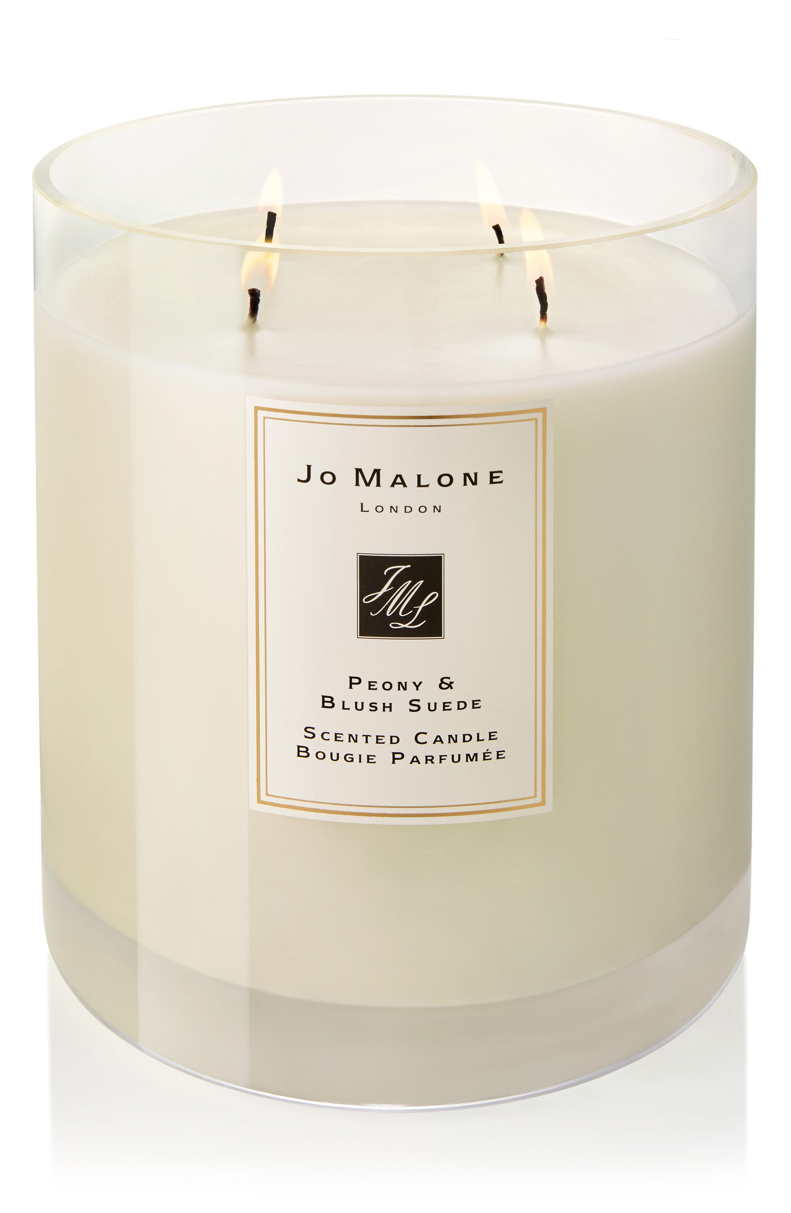 JO MALONE LONDON<SUP>™</SUP>, Peony & Blush Suede Luxury Scented Candle, Alternate thumbnail 2, color, NO COLOR