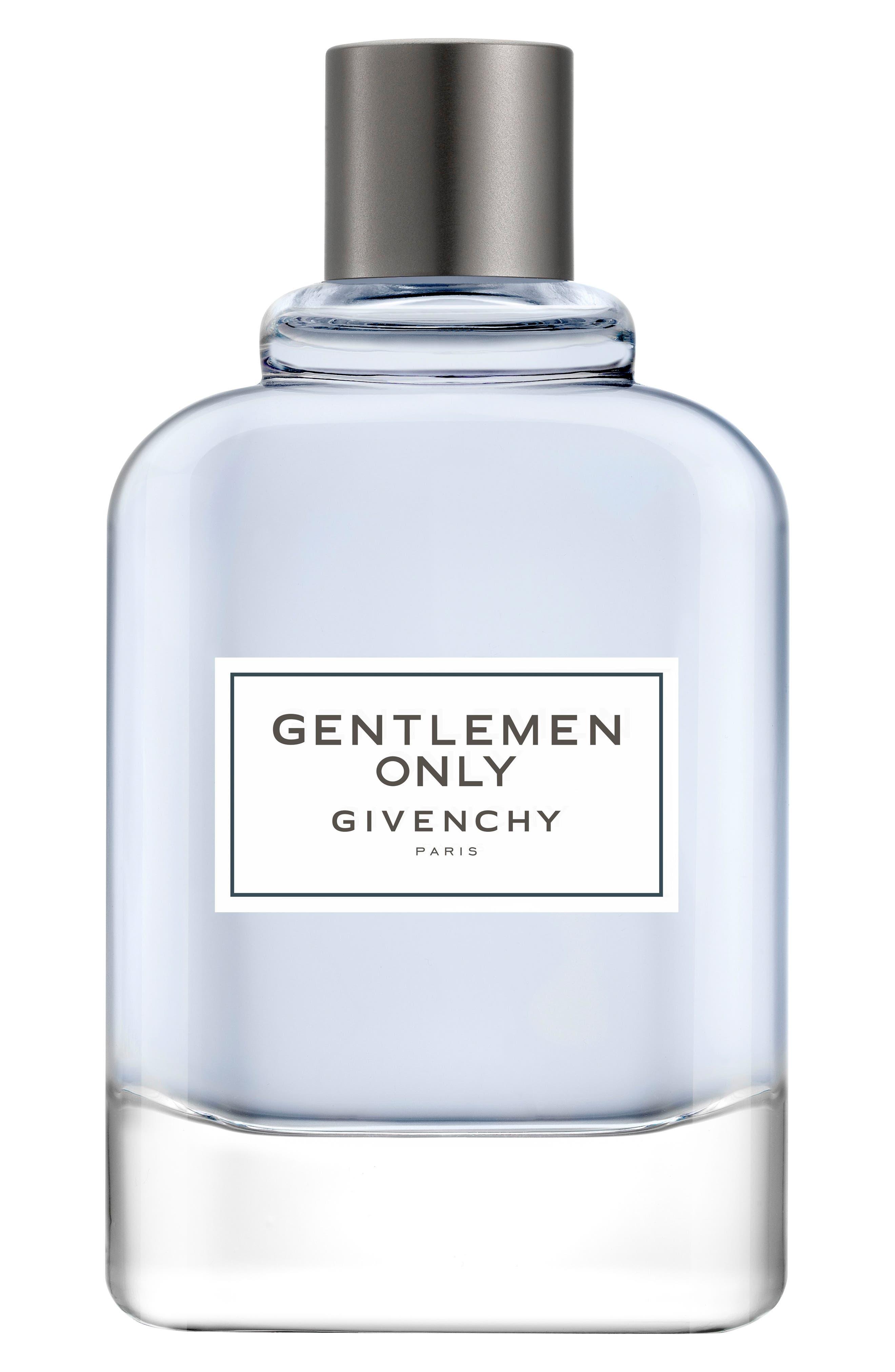 GIVENCHY, 'Gentlemen Only' Eau de Toilette, Main thumbnail 1, color, NO COLOR