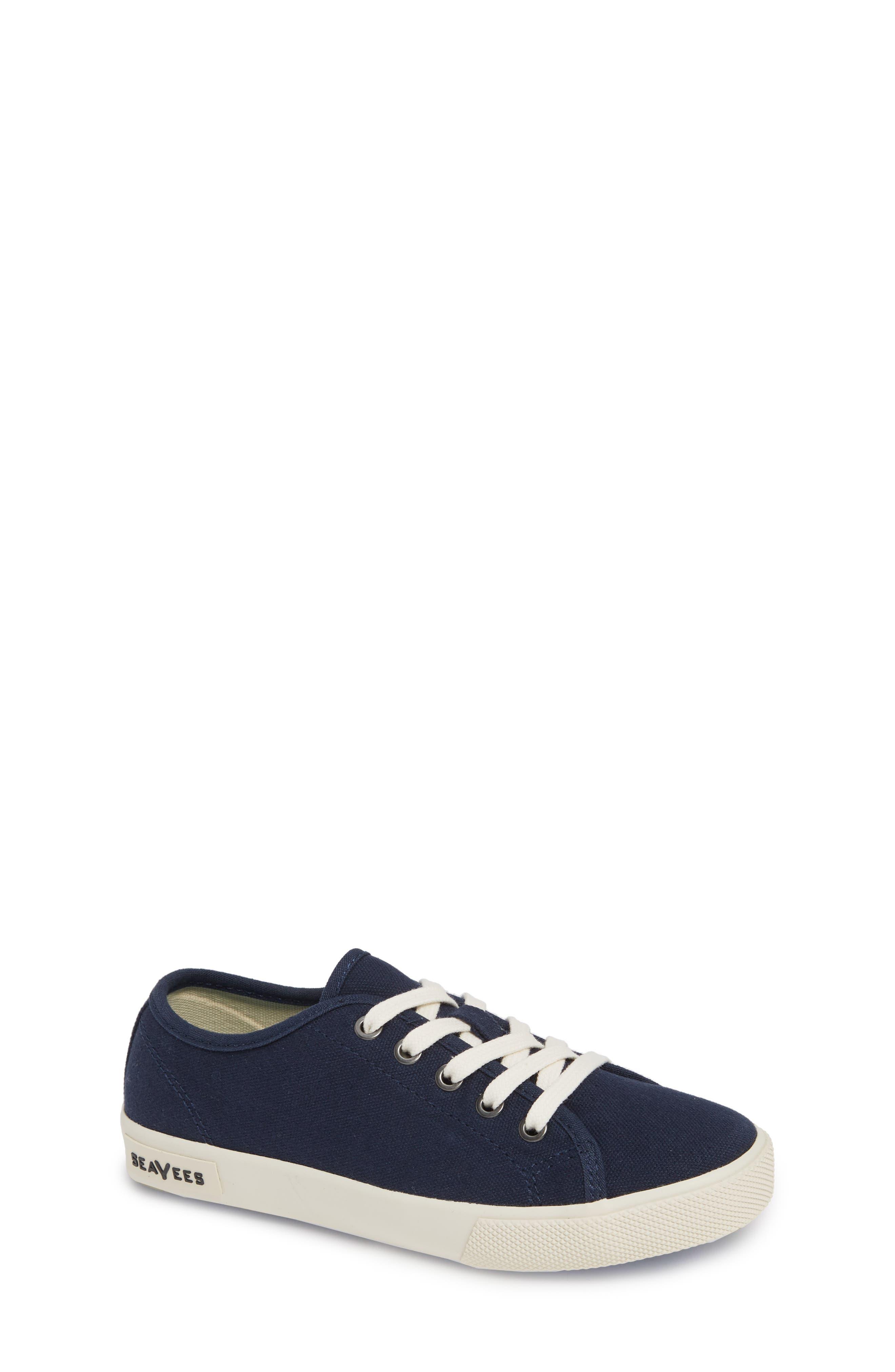 Kids Seavees Monterey Standard Sneaker Size 4 M  Blue