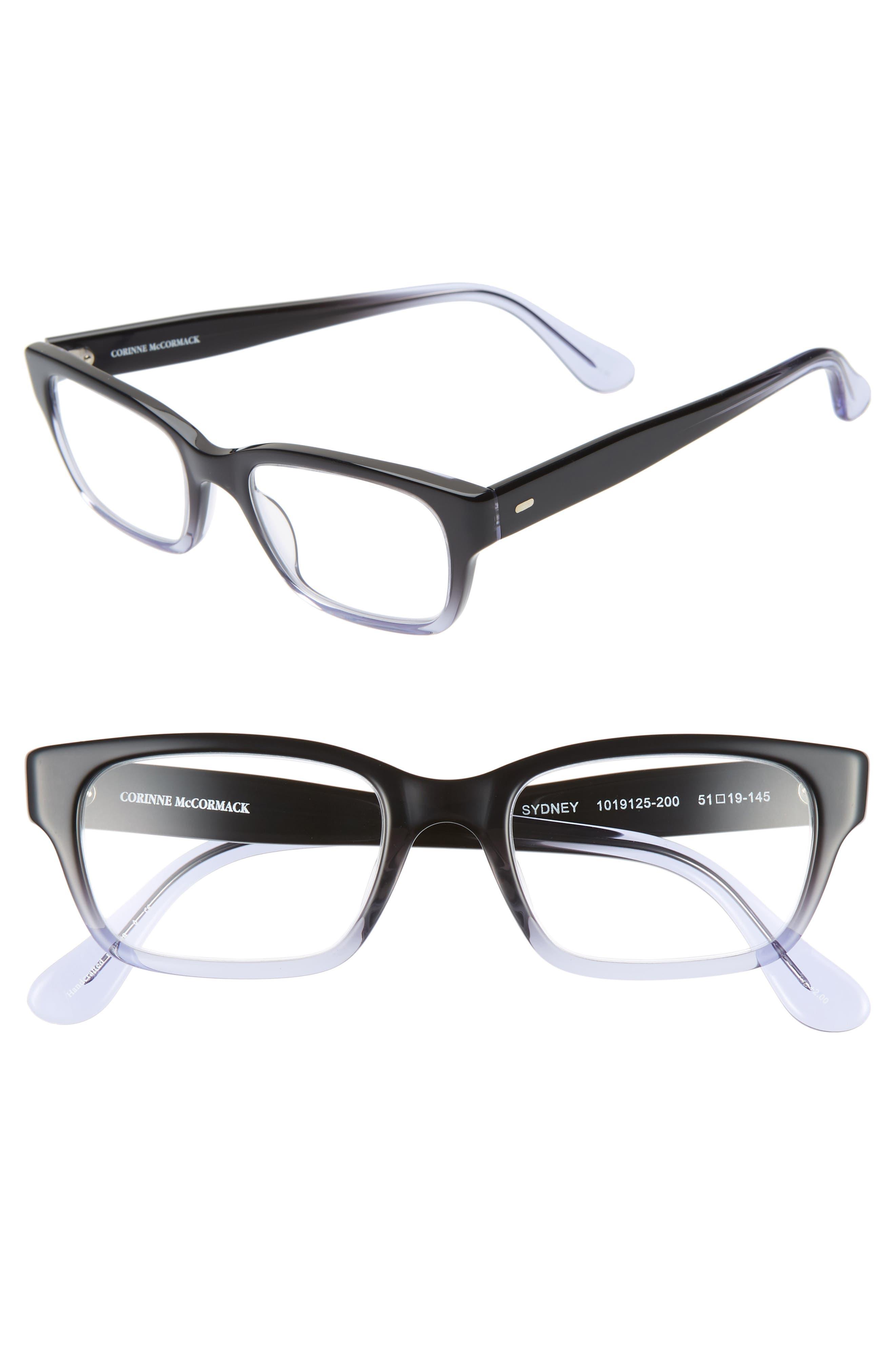 CORINNE MCCORMACK, 'Sydney' 51mm Reading Glasses, Main thumbnail 1, color, 006