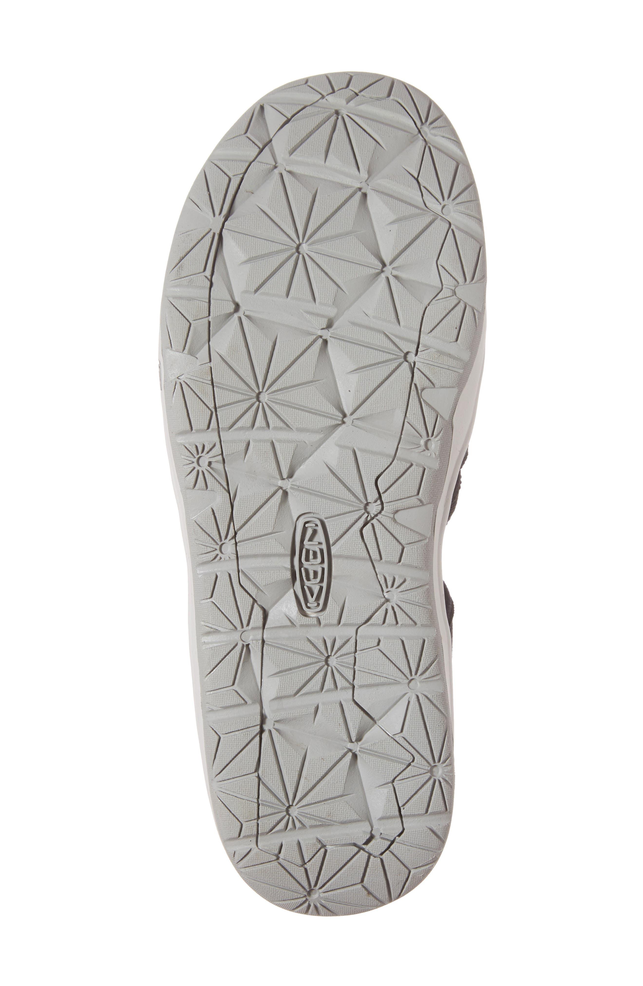KEEN, Moxie Water Friendly Sandal, Alternate thumbnail 6, color, BLACK/ VAPOR