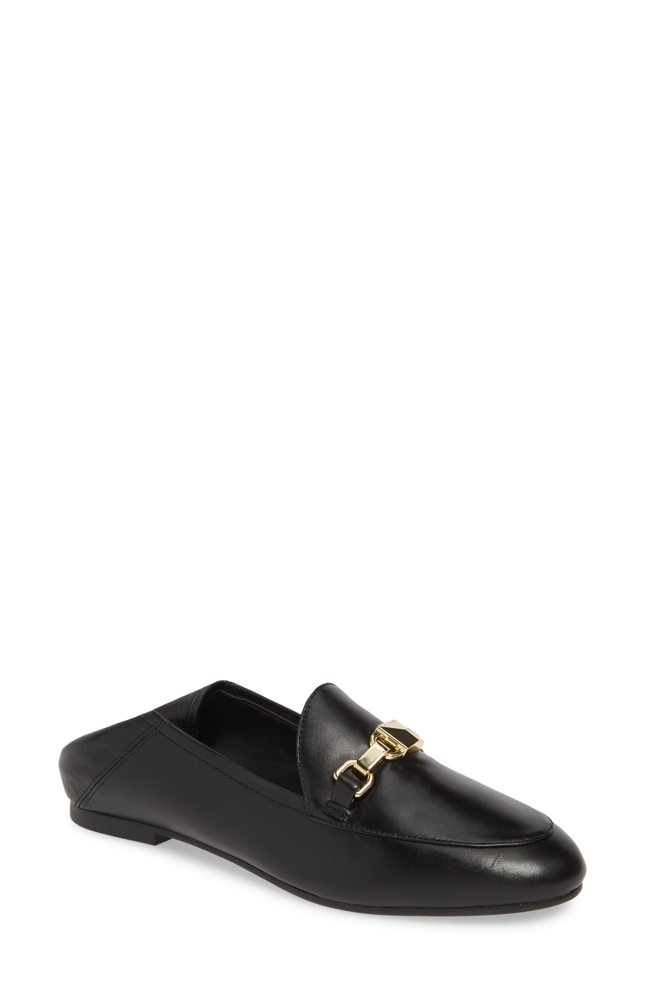 MICHAEL MICHAEL KORS Charlton Convertible Loafer, Main, color, BLACK NAPPA LEATHER