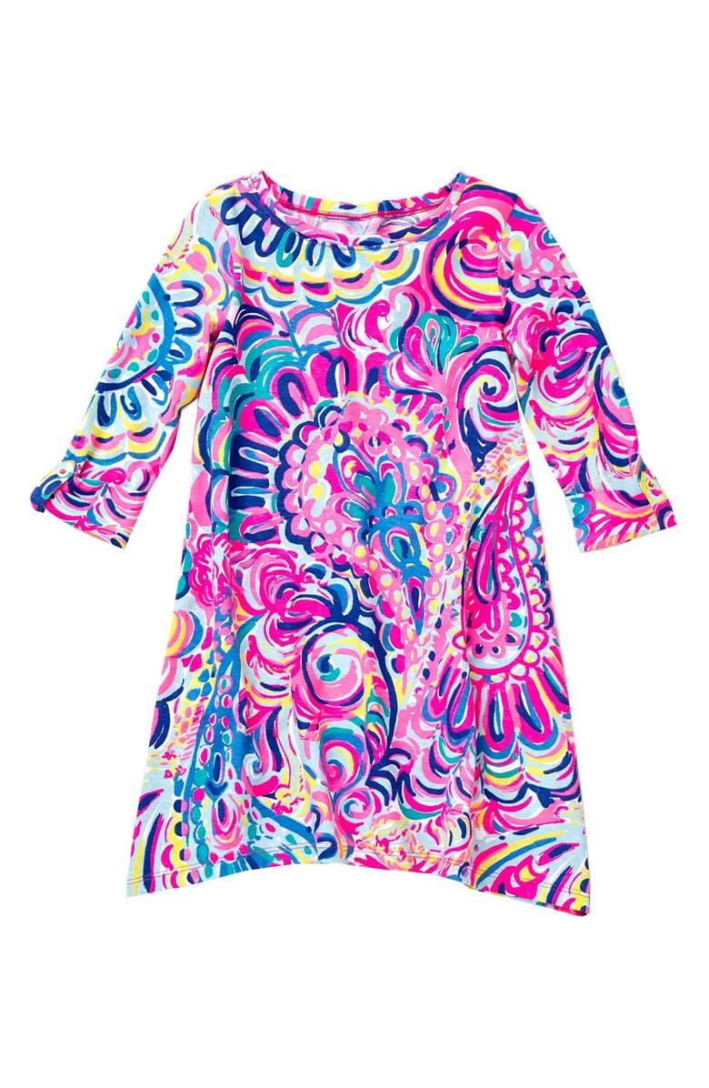 962a160da917c5 Lilly Pulitzer® 'Mini Edna' Shift Dress (Toddler Girls, Little Girls ...