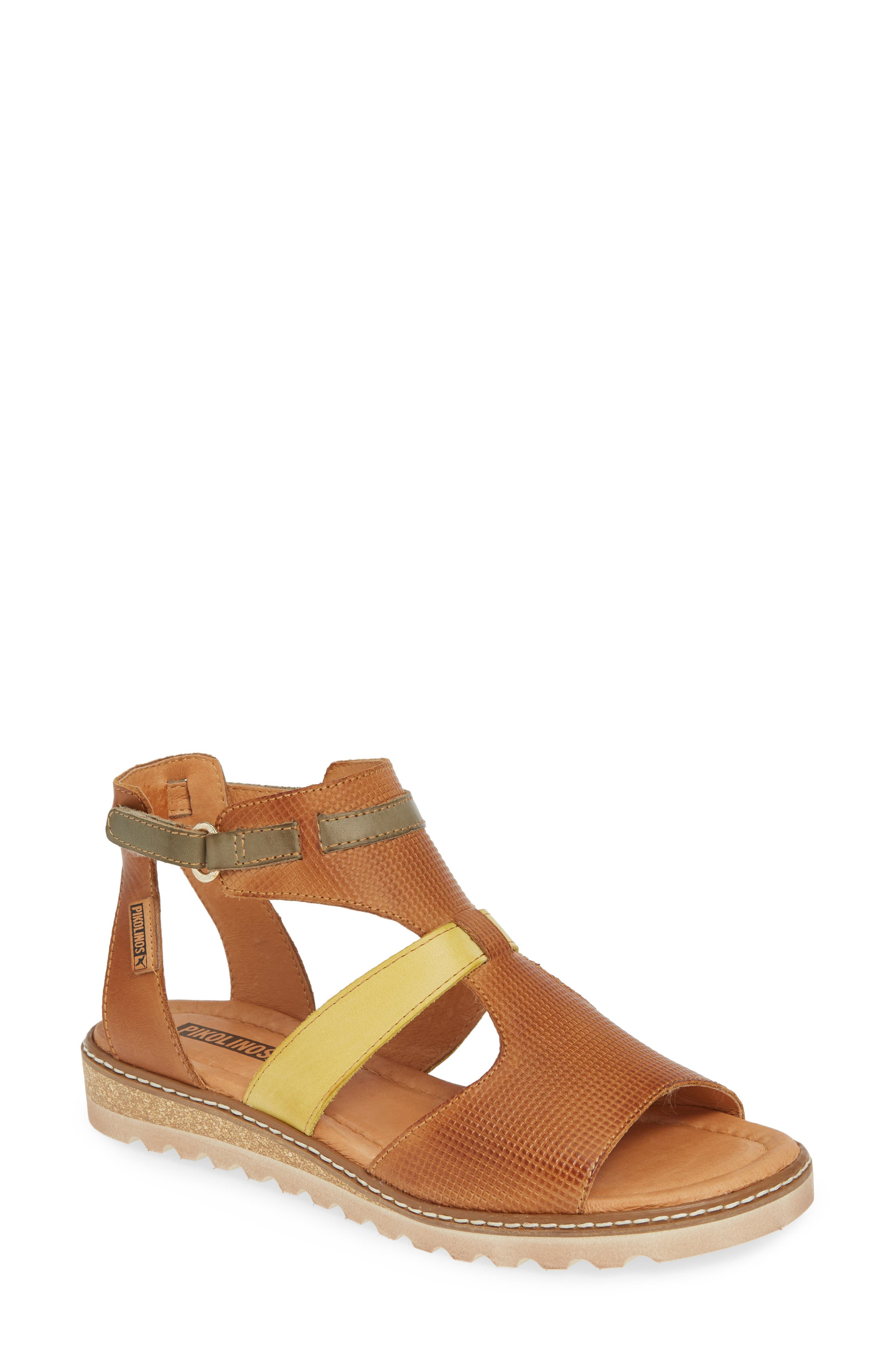 Alcudia Multiband Sandal by Pikolinos