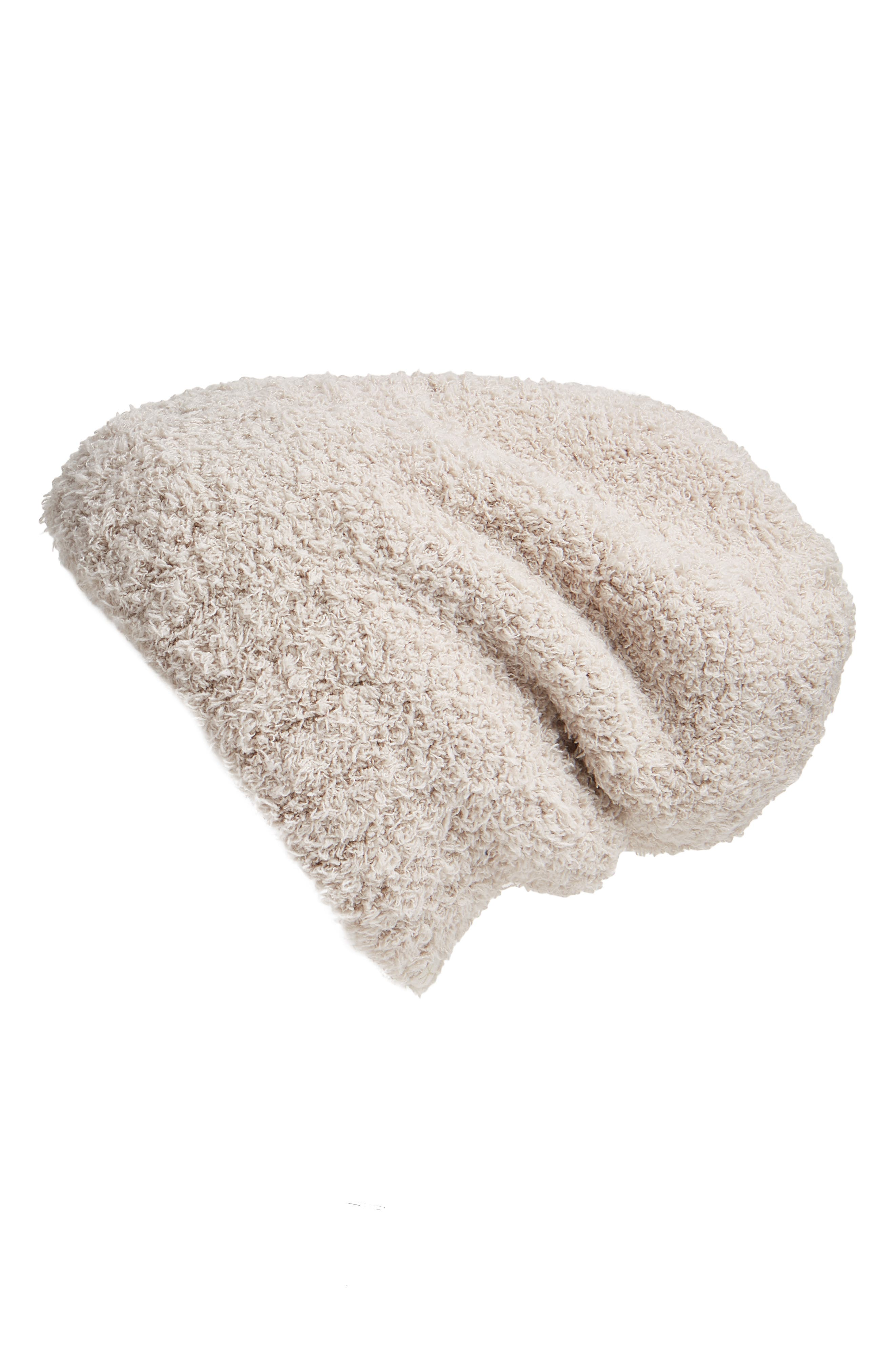 BAREFOOT DREAMS<SUP>®</SUP> 'Cozy Chic<sup>®</sup>' Slouch Beanie, Main, color, STONE