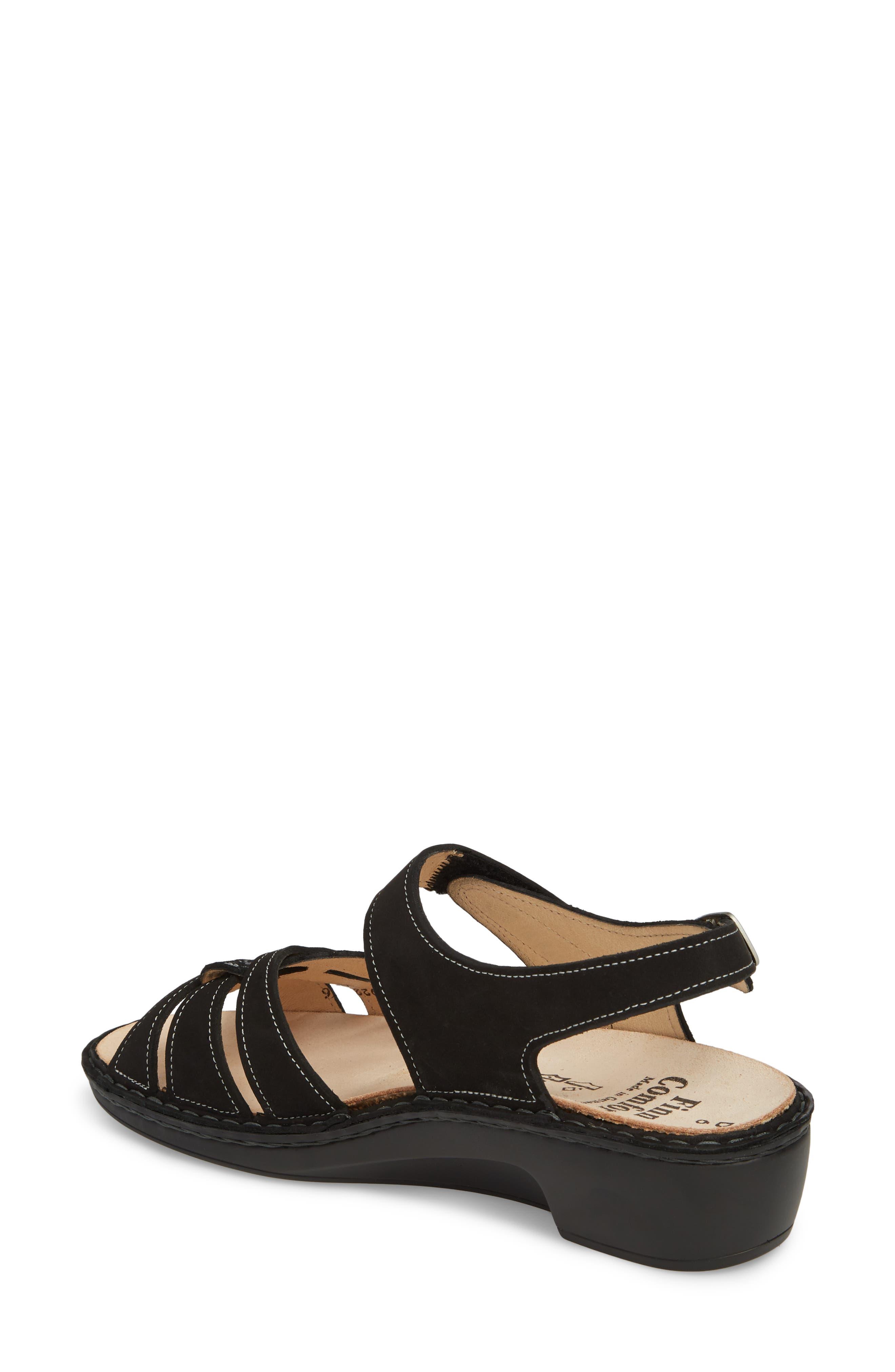 FINN COMFORT, Buka Sandal, Alternate thumbnail 2, color, 001