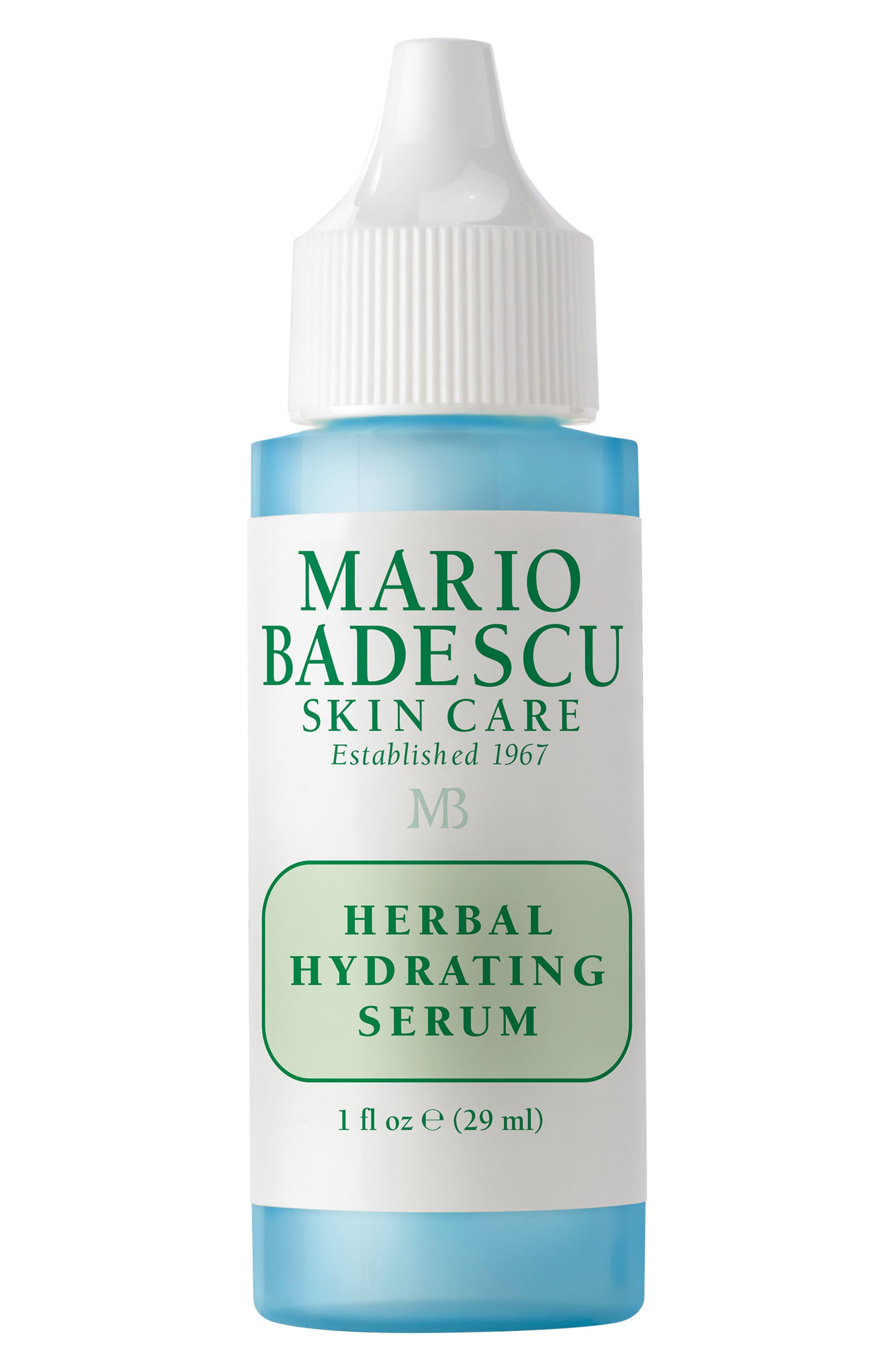MARIO BADESCU, Herbal Hydrating Serum, Main thumbnail 1, color, NO COLOR