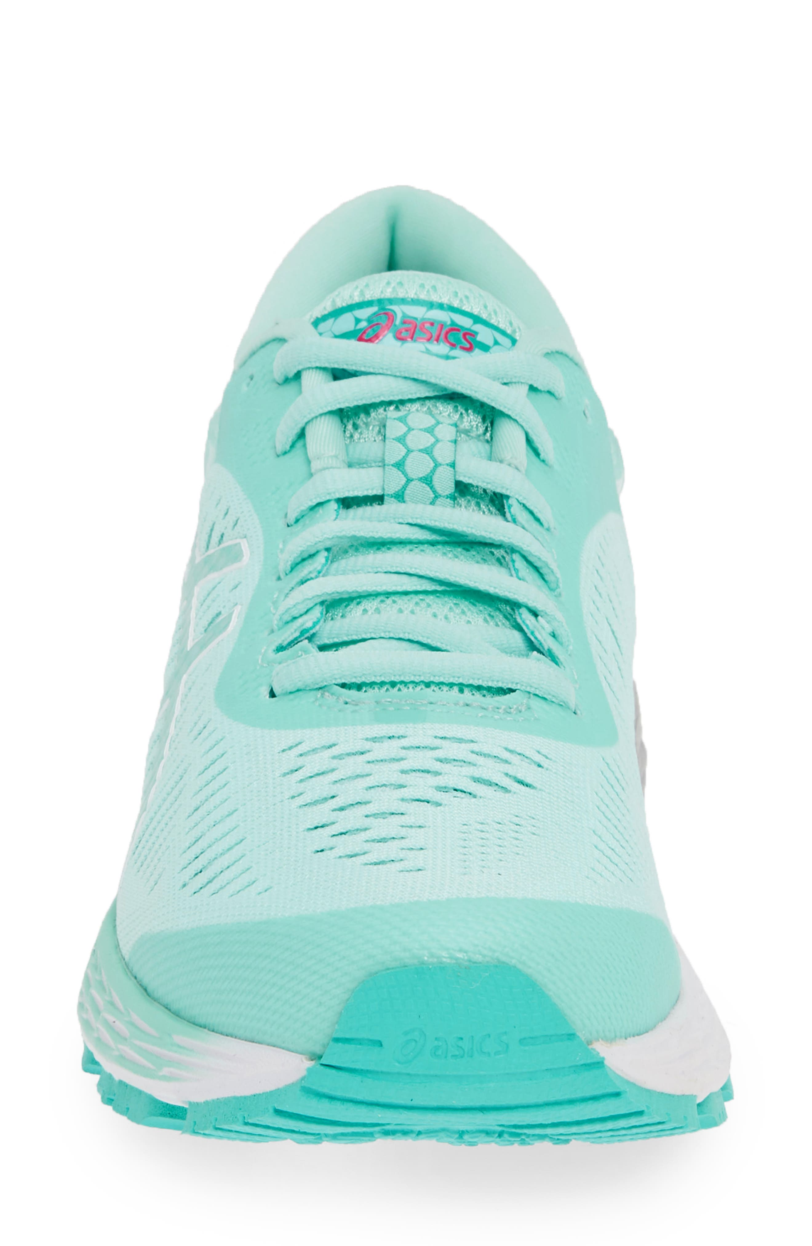 ASICS<SUP>®</SUP>, GEL-Kayano<sup>®</sup> 25 Running Shoe, Alternate thumbnail 4, color, ICY MORNING/ SEA GLASS