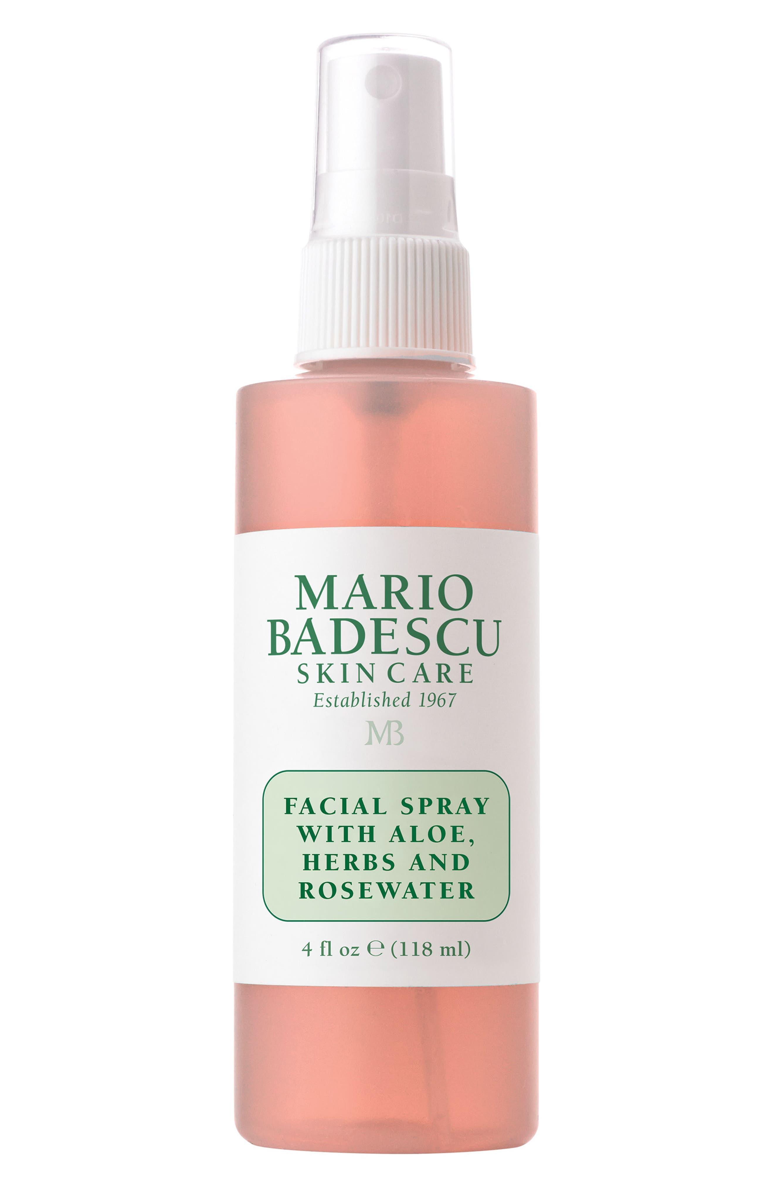 MARIO BADESCU Facial Spray with Aloe, Herbs & Rosewater, Main, color, NO COLOR