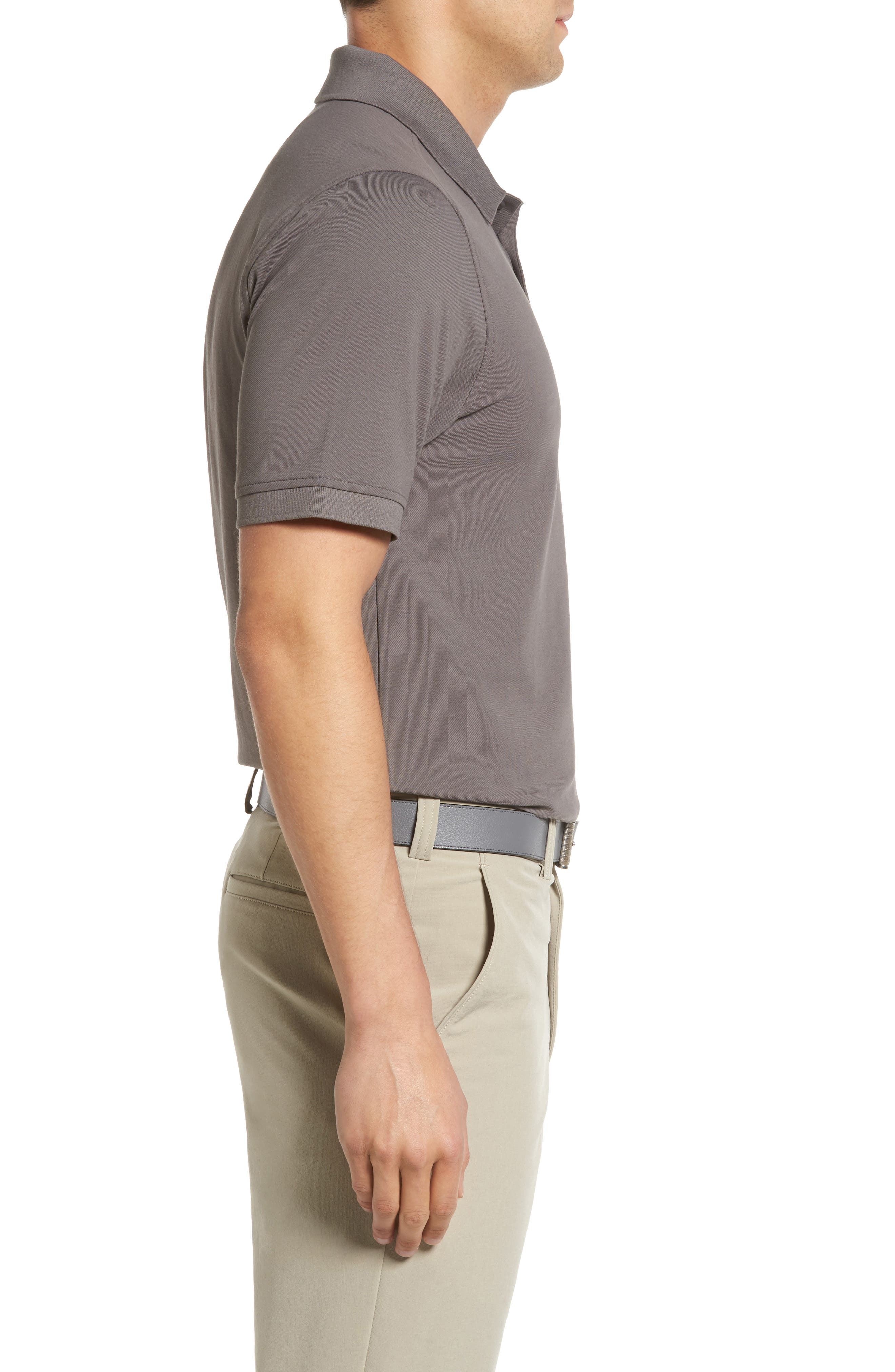 CUTTER & BUCK, Advantage Golf Polo, Alternate thumbnail 3, color, ELEMENTAL