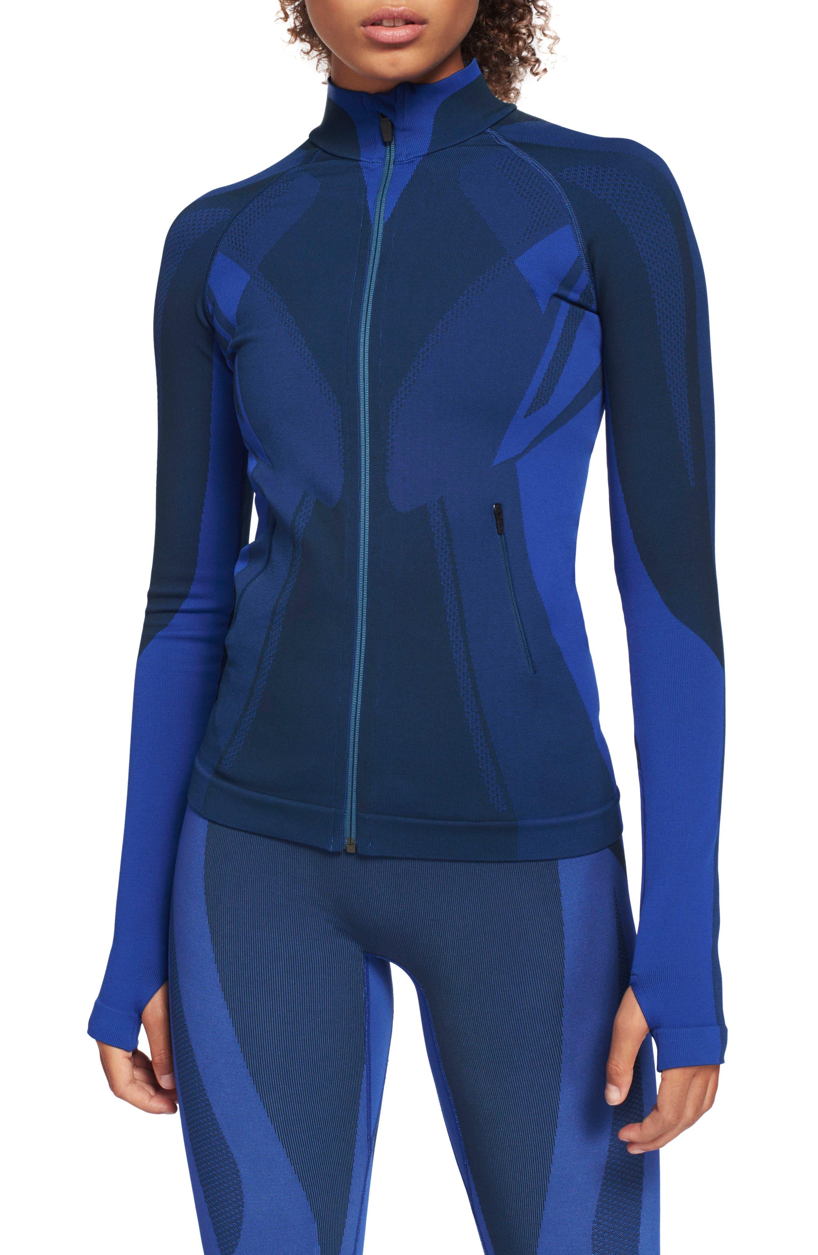 LNDR, All Seasons Jacket, Main thumbnail 1, color, ALL SEASONS JACKET BLUE PETROL