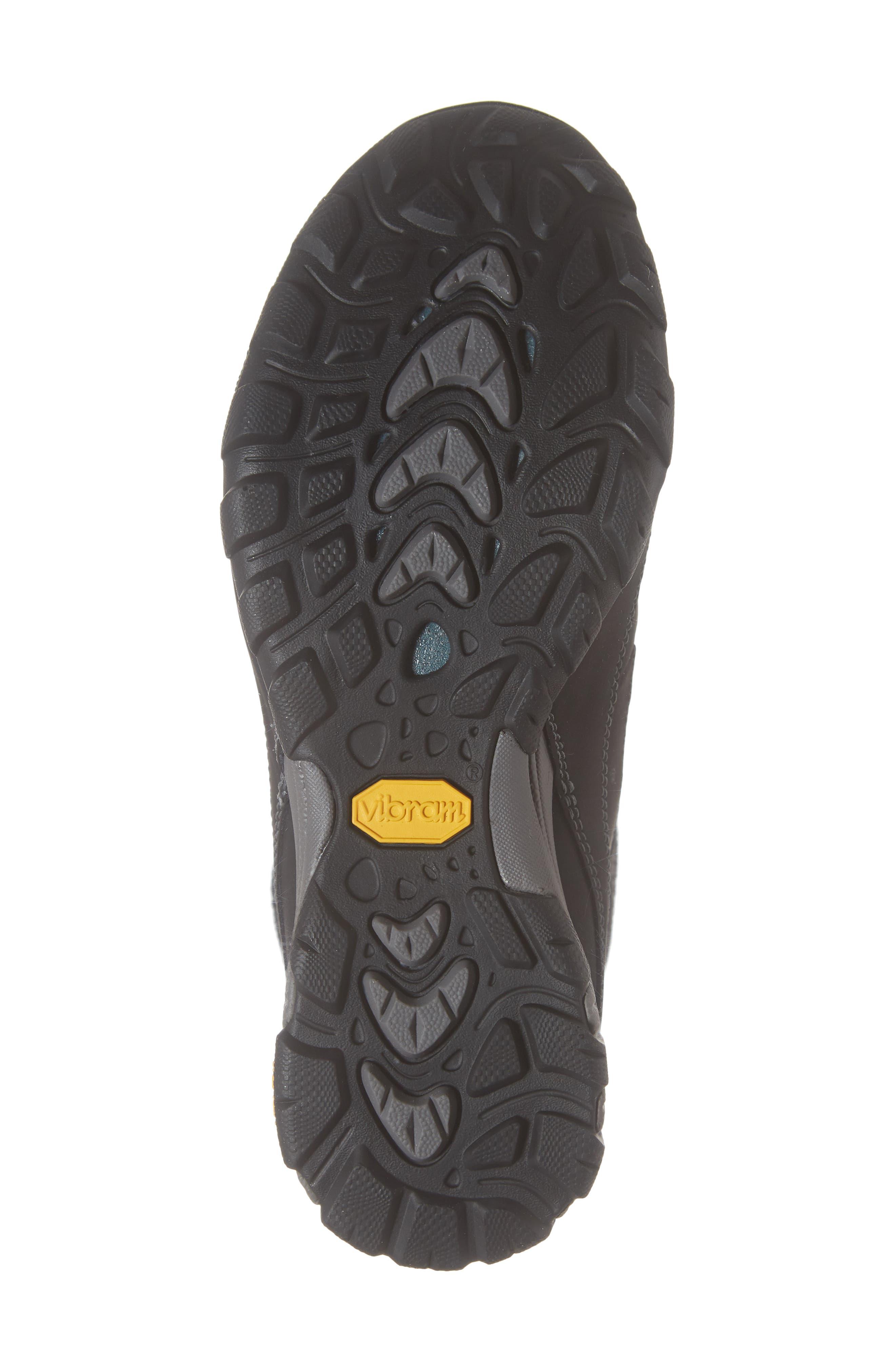 TEVA, Ahnu by Teva Sugarfrost Insulated Waterproof Boot, Alternate thumbnail 6, color, BLACK LEATHER